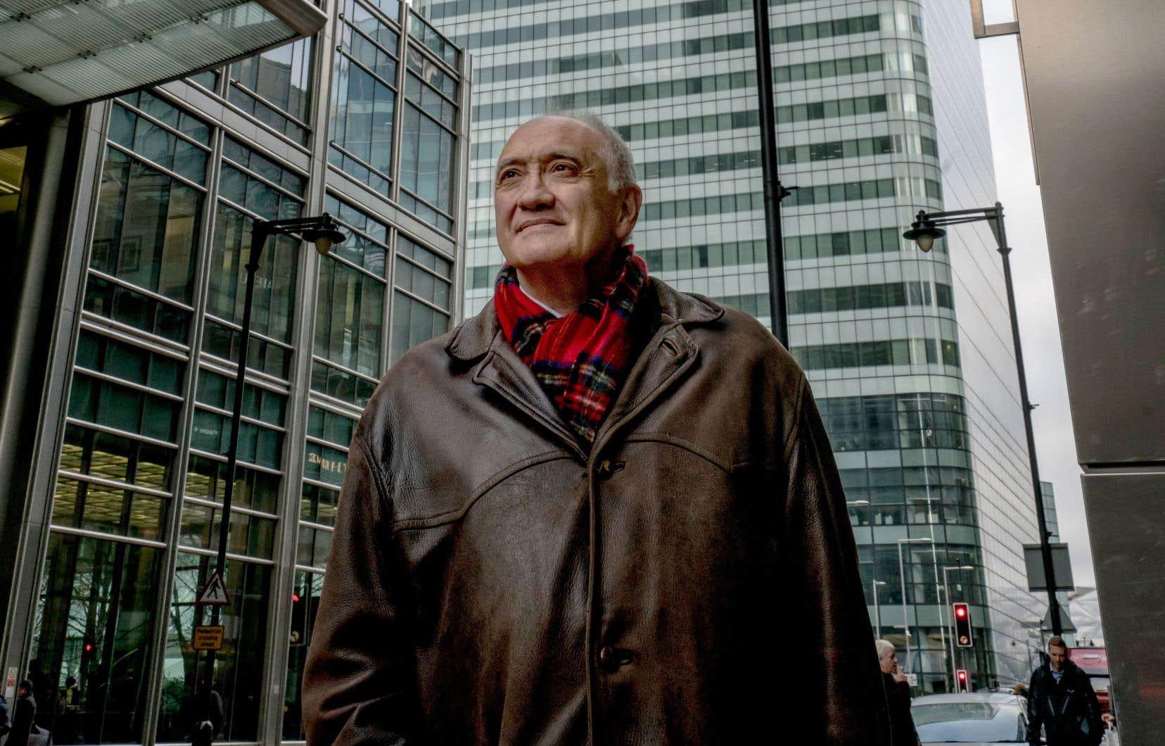 Le journaliste Marc Roche, correspondant depuis 30ans à Londres, longtemps pour le quotidien français «Le Monde», puis, plus récemment, pour le magazine d'actualité «Le Point»