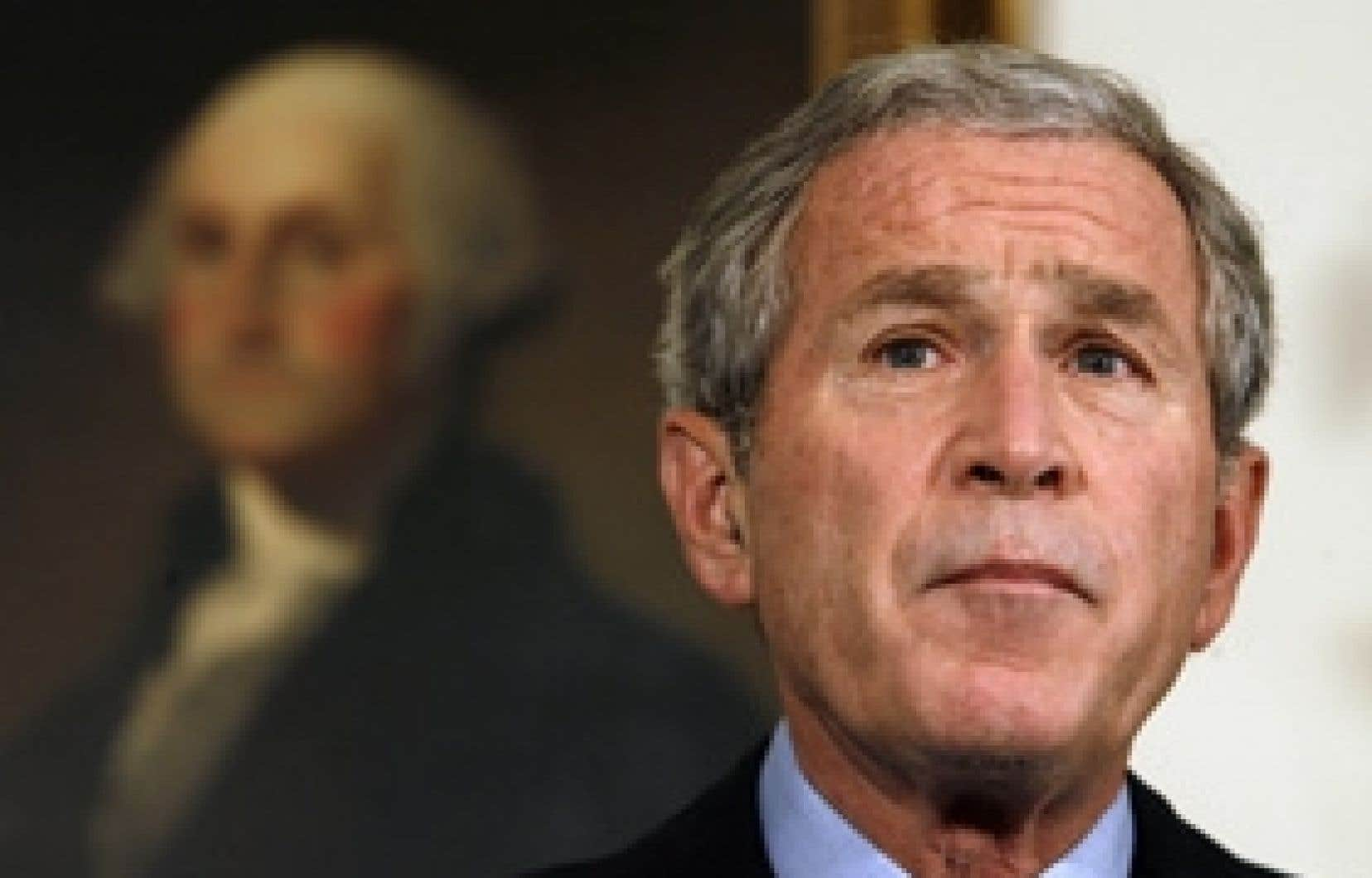 Le président américain, George W. Bush, a pris la parole hier à la Maison-Blanche avant l'ouverture des marchés. Il compte toujours sur l'adoption rapide d'un plan de sauvetage financier.