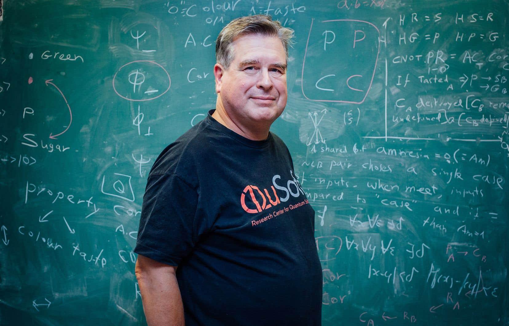 Parmi les plus grandes contributions de l'informaticien Gilles Brassard, on compte la cryptographie quantique et la téléportation quantique.