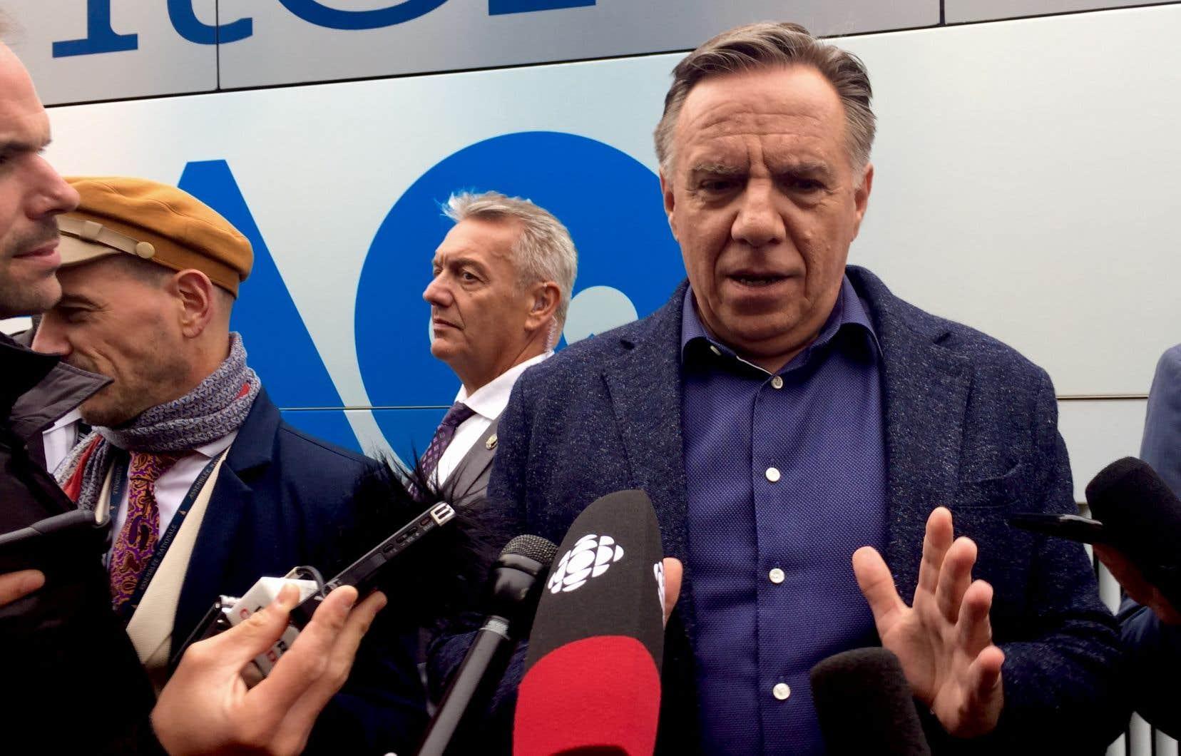 François Legault retient comme leçon de la campagne électorale qu'il peut en «apprendre plus».