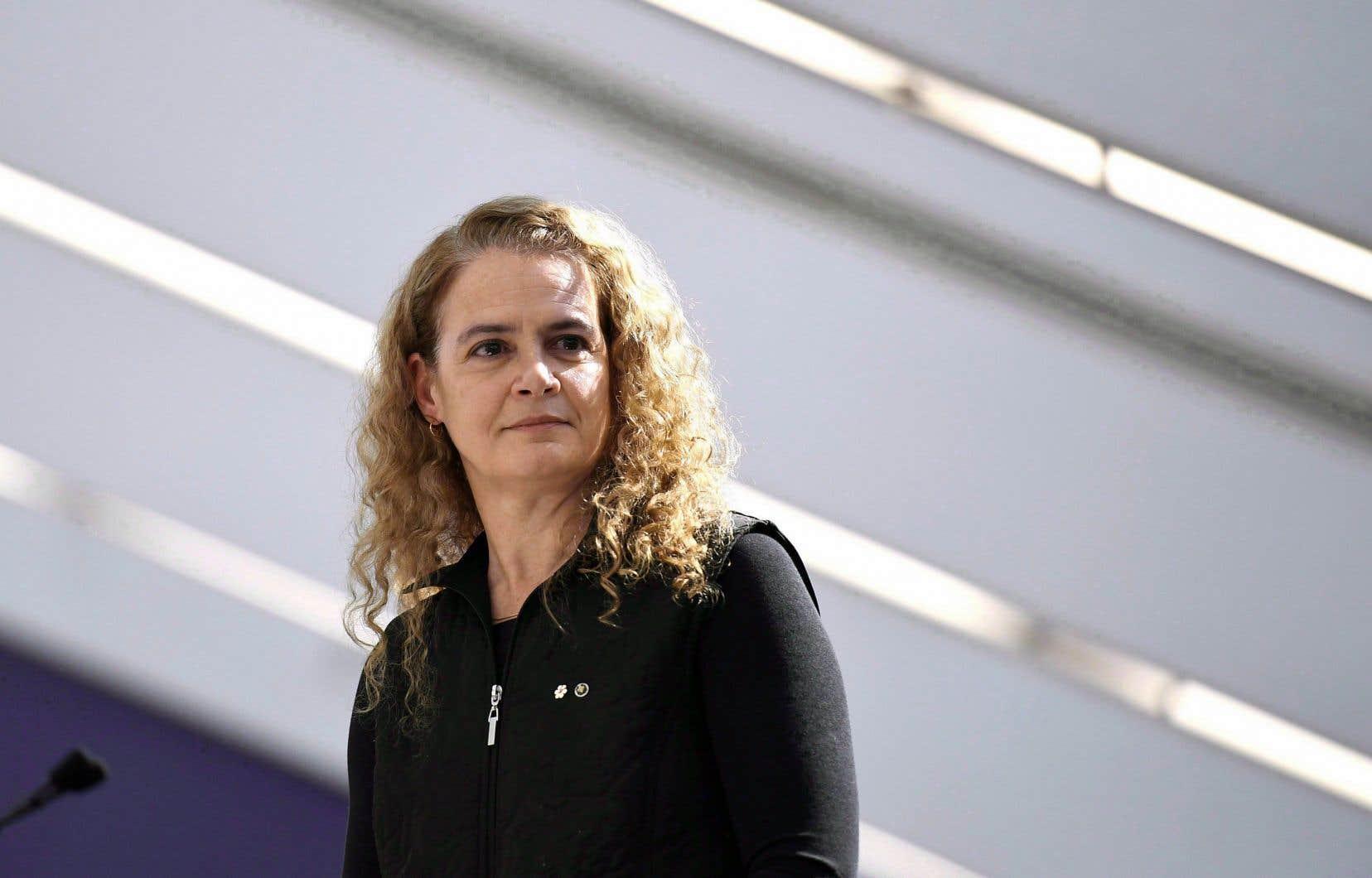 La gouverneure générale, Julie Payette