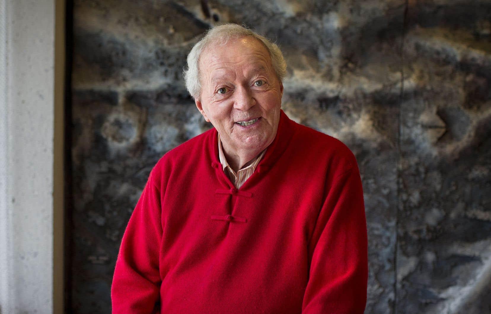 Jacques Laurin en 2013