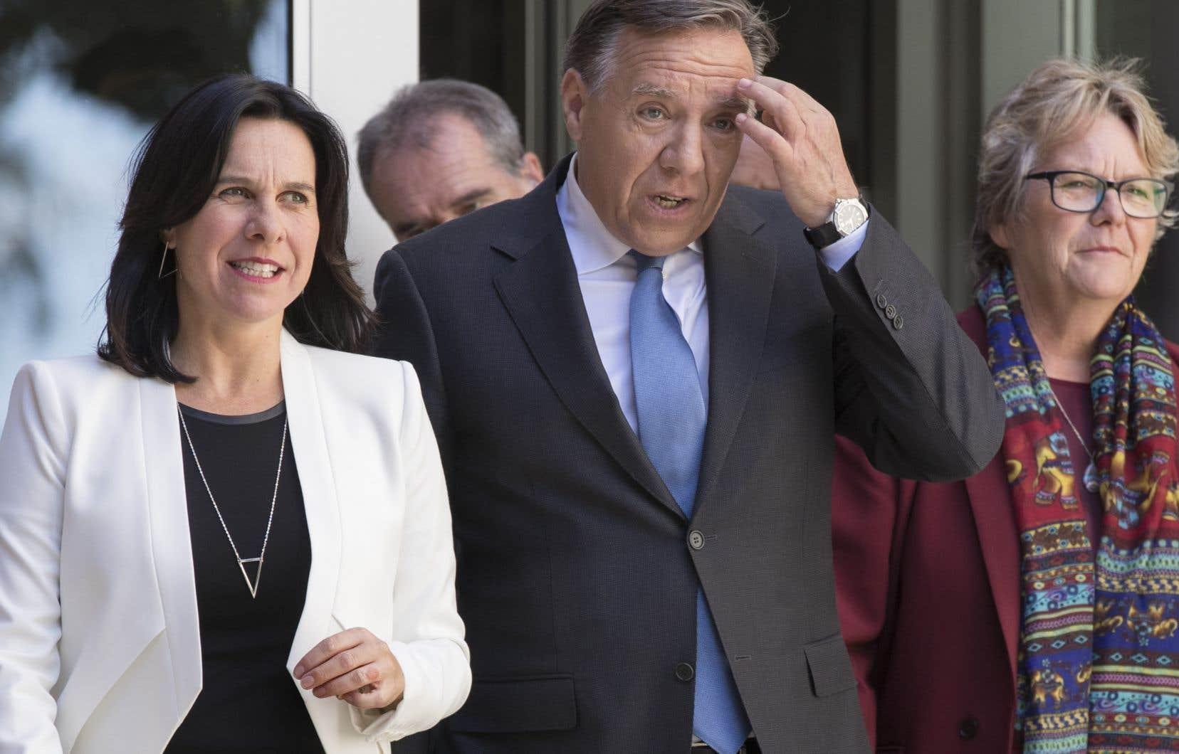 En campagne électorale, le premier ministre désigné François Legault avait ouvert la porte à un métro de surface pour la ligne rose.