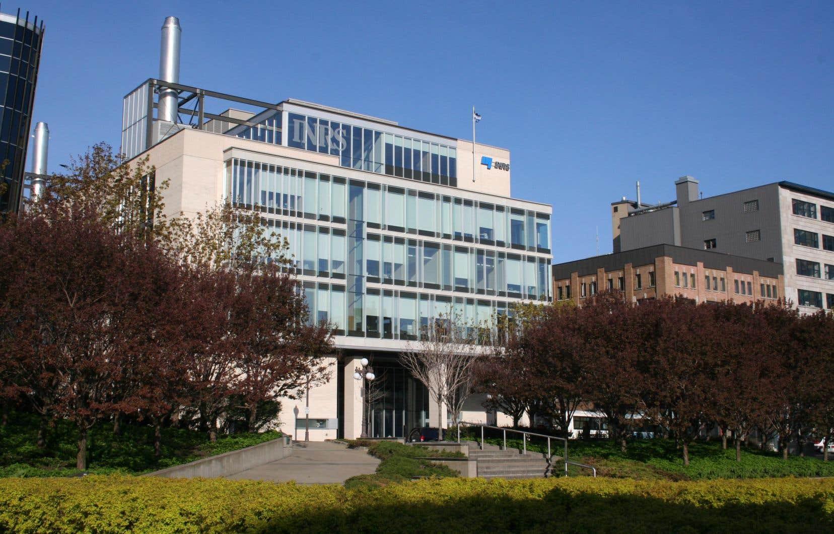 Le campus de Québec de l'INRS. L'institut est aussi présent à Montréal, à Varennes et à Laval.