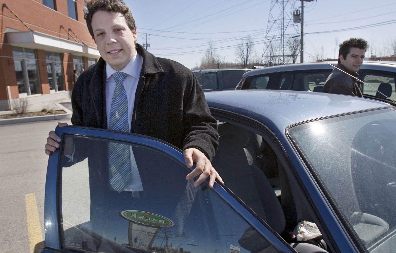 Élu en 2007 à l'Assemblée nationale à l'âge de 22 ans, Simon-Pierre Diamond qualifie l'après-défaite d'«étape douloureuse».