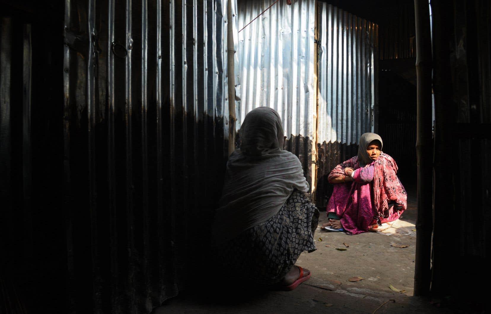 Selon l'ONU, 16000 Rohingyas se trouvent en Inde, mais beaucoup n'ont pas été recensés. New Delhi évalue leur nombre à 40000.