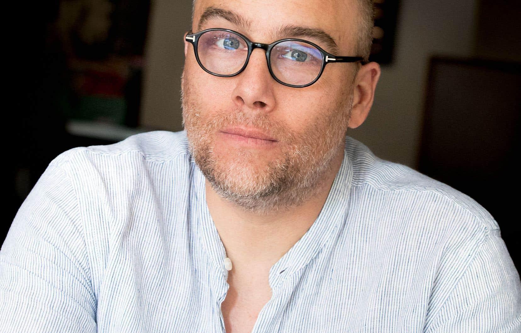 L'auteur Patrice Lessard