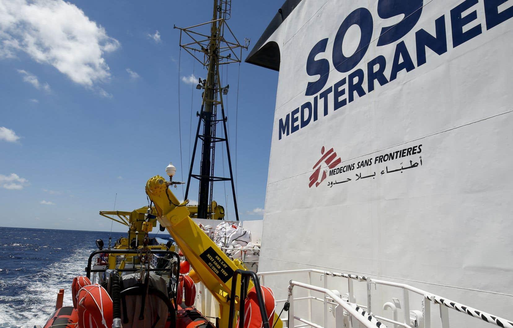 Alors qu'un rapport d'expert a fait état d'une moyenne de huit morts par jour en septembre au large de la Libye, le collectif veut «vaincre la peur et le mépris avec la solidarité et l'humanité», a expliqué Ada Talarico, membre de Mediterranea.
