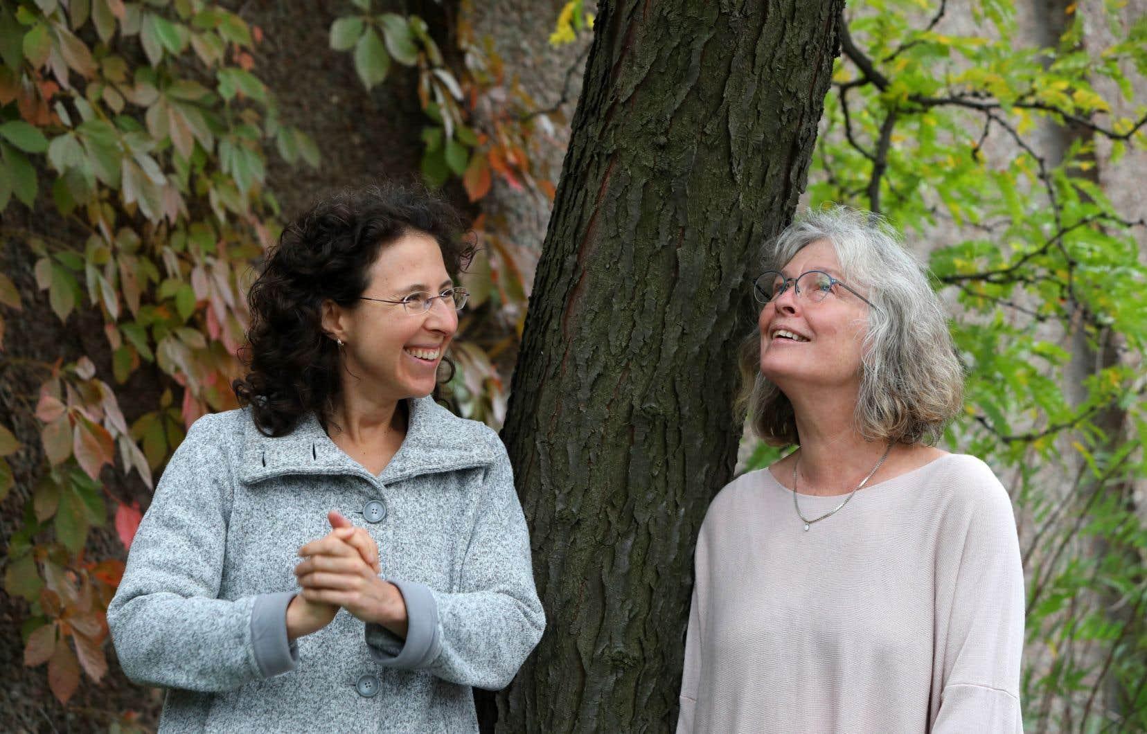 Marianne Trudel et Karen Young n'ont pu colorer ce «Portraits» qu'après avoir beaucoup, beaucoup tracé les contours des mélodies, et lu jusqu'entre les lignes cette poésie chansonnière si singulière.