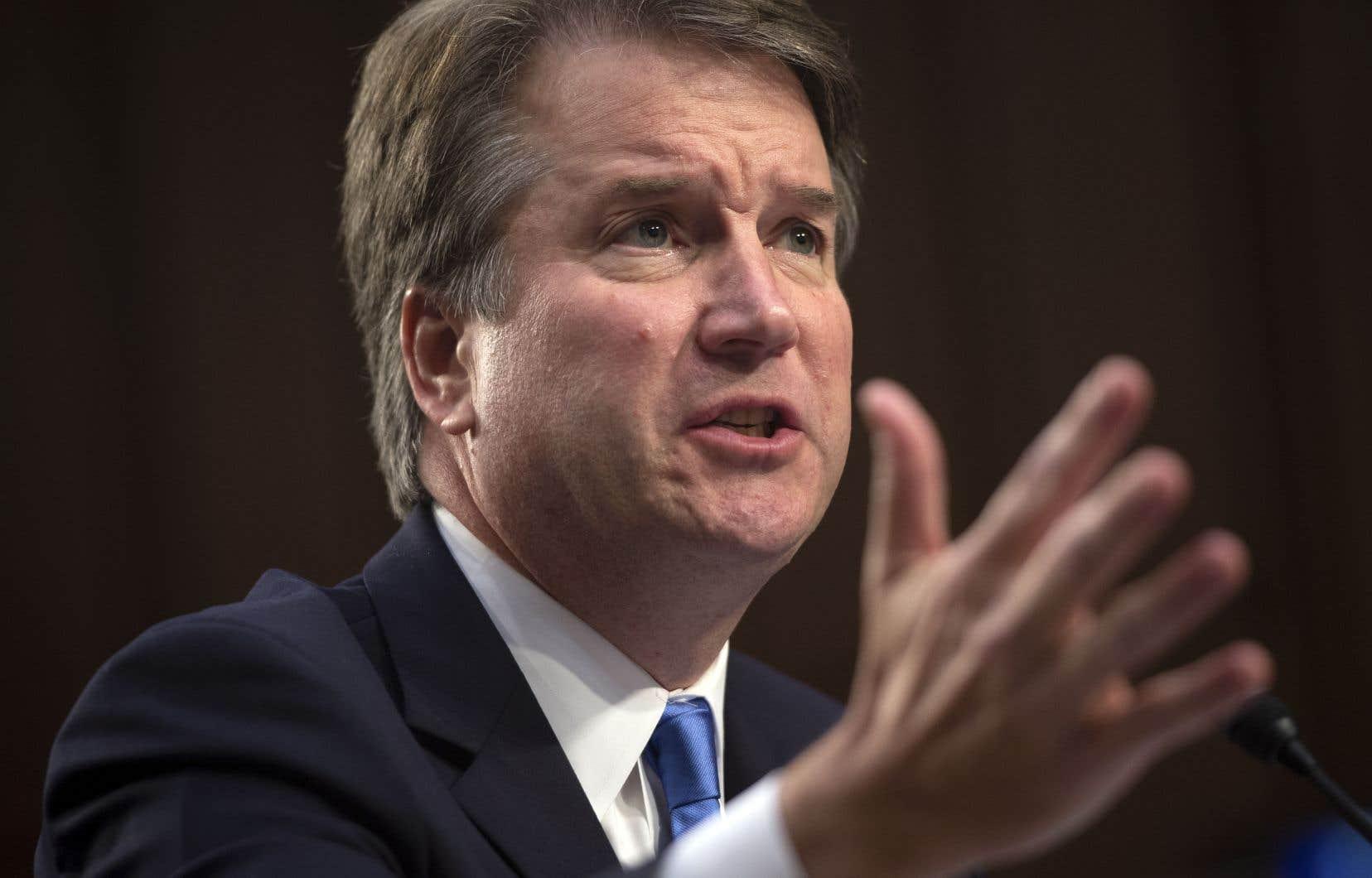 Le candidat du président Trump à la Cour suprême, Brett Kavanaugh