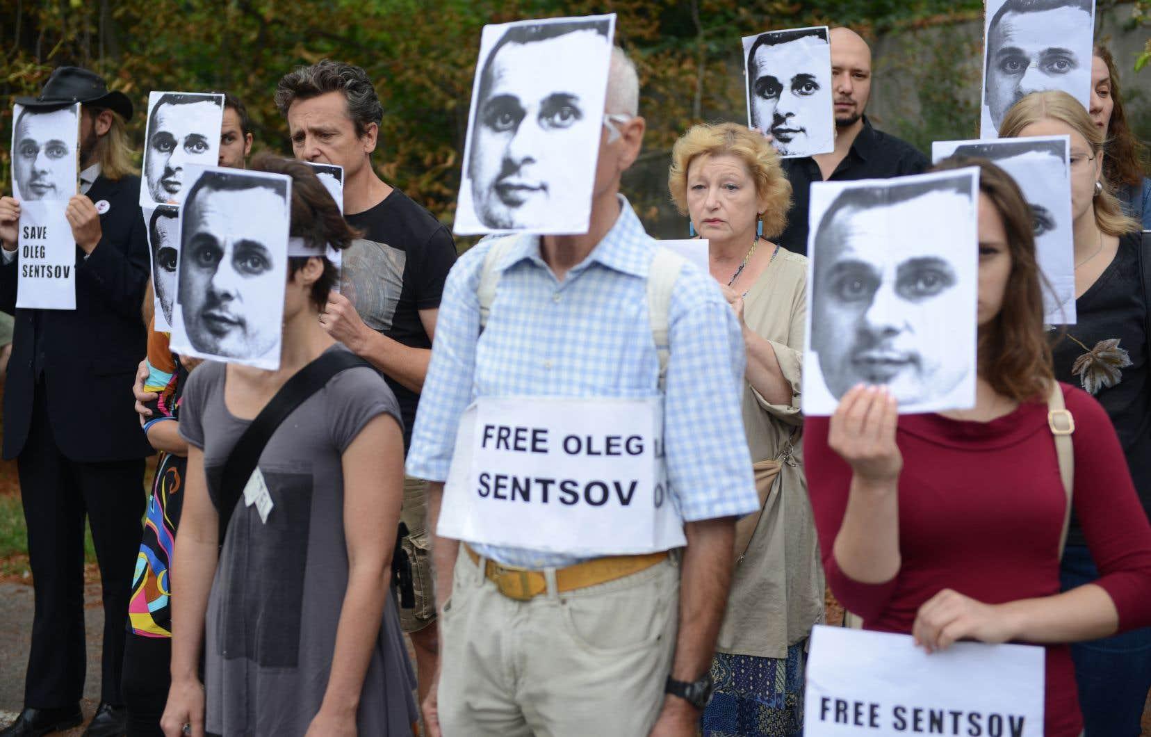 Les pays du G7 ainsi que de nombreuses personnalités du monde culturel ont appelé à la libération d'Oleg Sentsov.