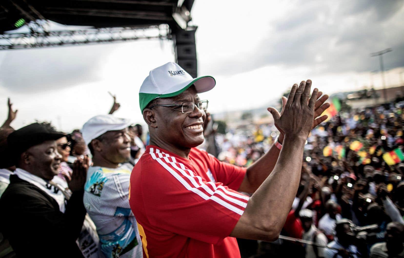 Maurice Kamto, ancien ministre délégué à la Justice entre 2004 et 2011, a fondé son parti politique en 2012.
