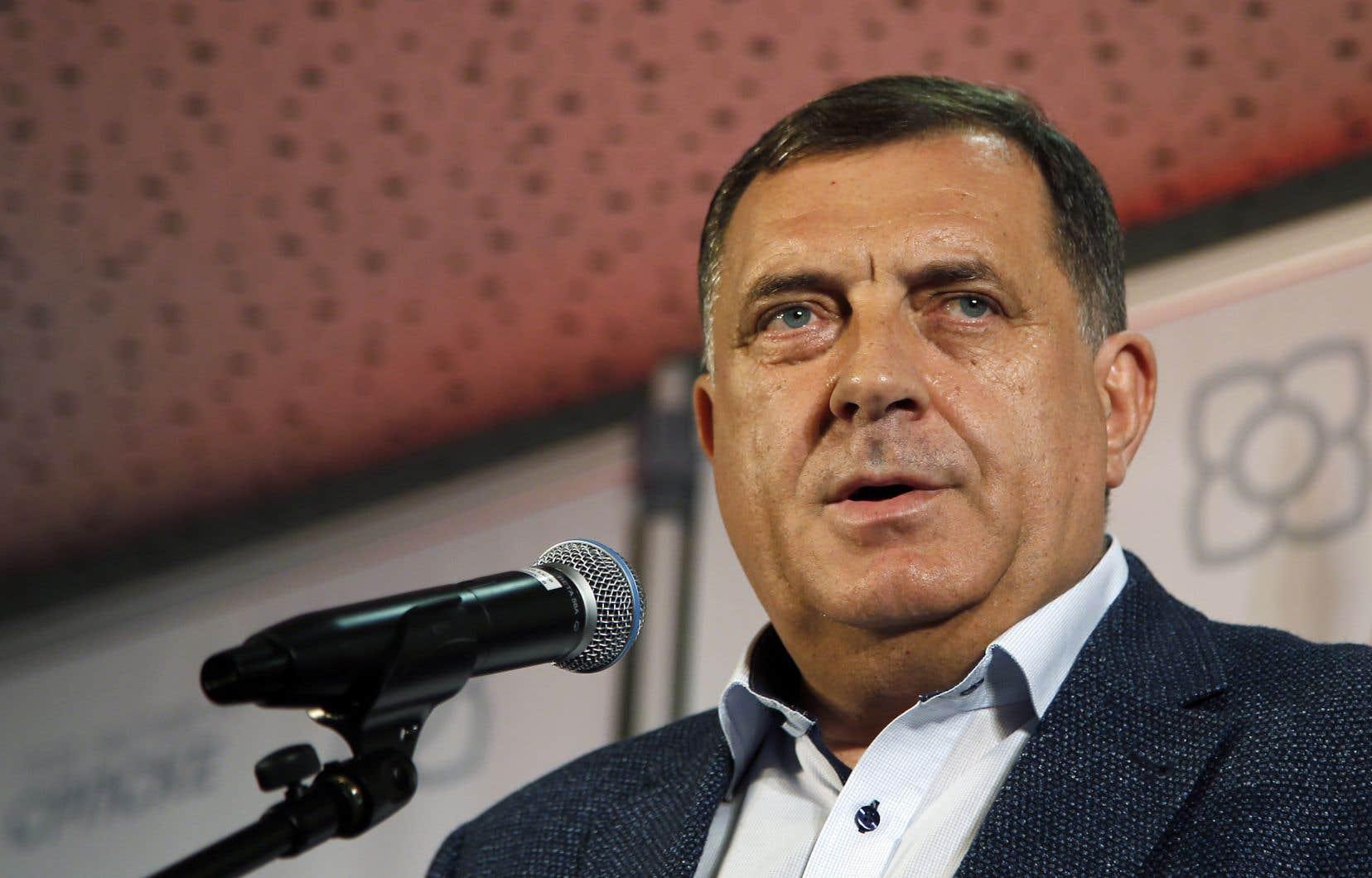 Le nationaliste serbe Milorad Dodik
