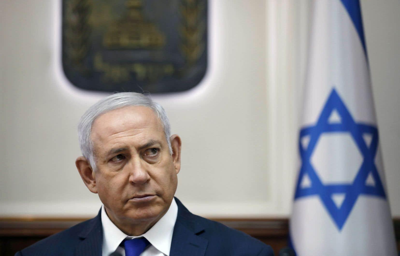 Israël continuera son «activité légitime en Syrie contre l'Iran et ses mandataires locaux qui ont clairement fait part de leur intention de nous détruire», a déclaré Benjamin Nétanyahou mardi.