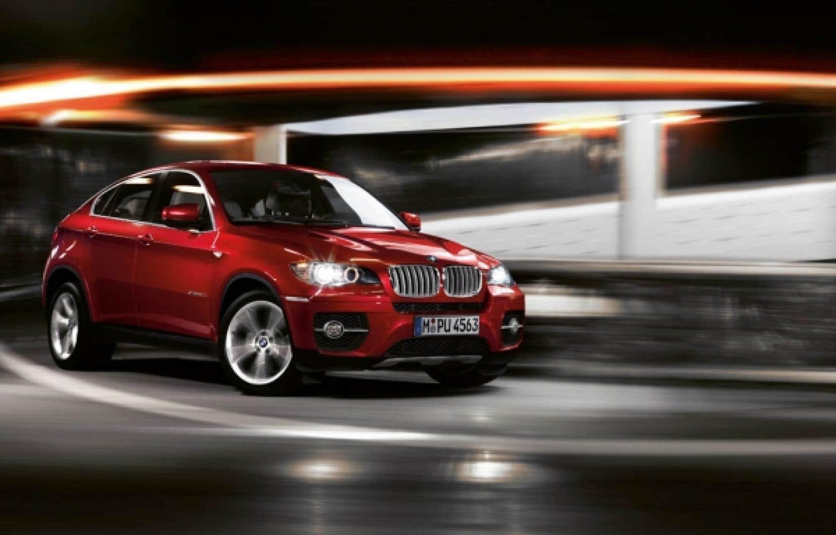 Ce n'est pas non plus parce que la BMW X6 ActiveHybrid possède un système hybride qu'elle est écolo.