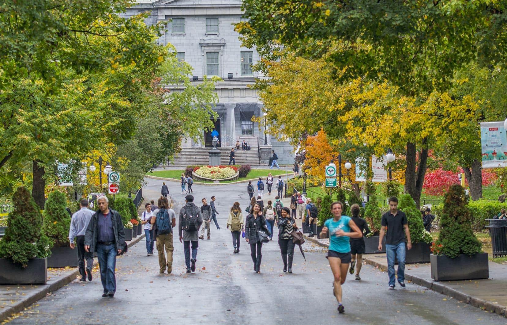L'Université McGill, l'Université Concordia et l'Université de Montréal regroupent à elles seules plus de la moitié de l'effectif international au Québec, selon l'IRIS.