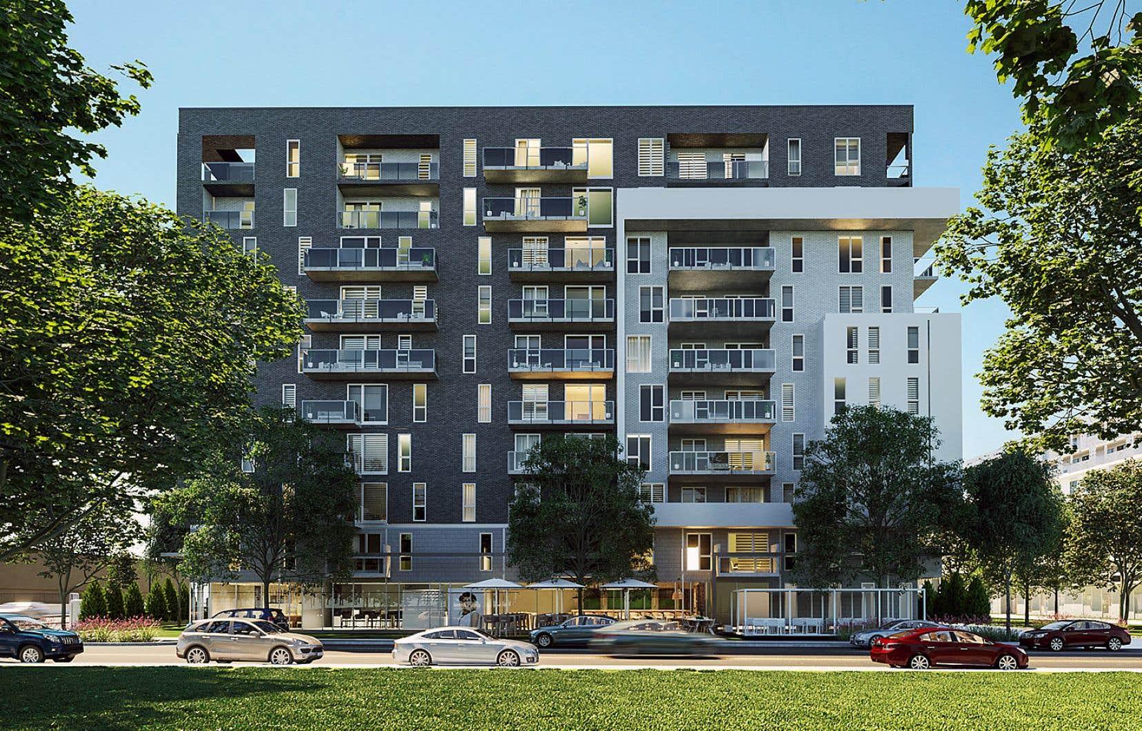 La proposition tient en trois lettres: M pour architecture moderne, U pour cadre de vie urbain et V pour environnement de verdure.