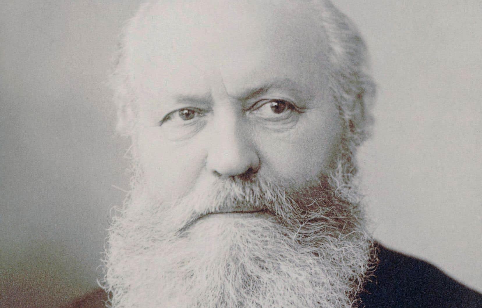 Le compositeur Charles Gounod, en 1890