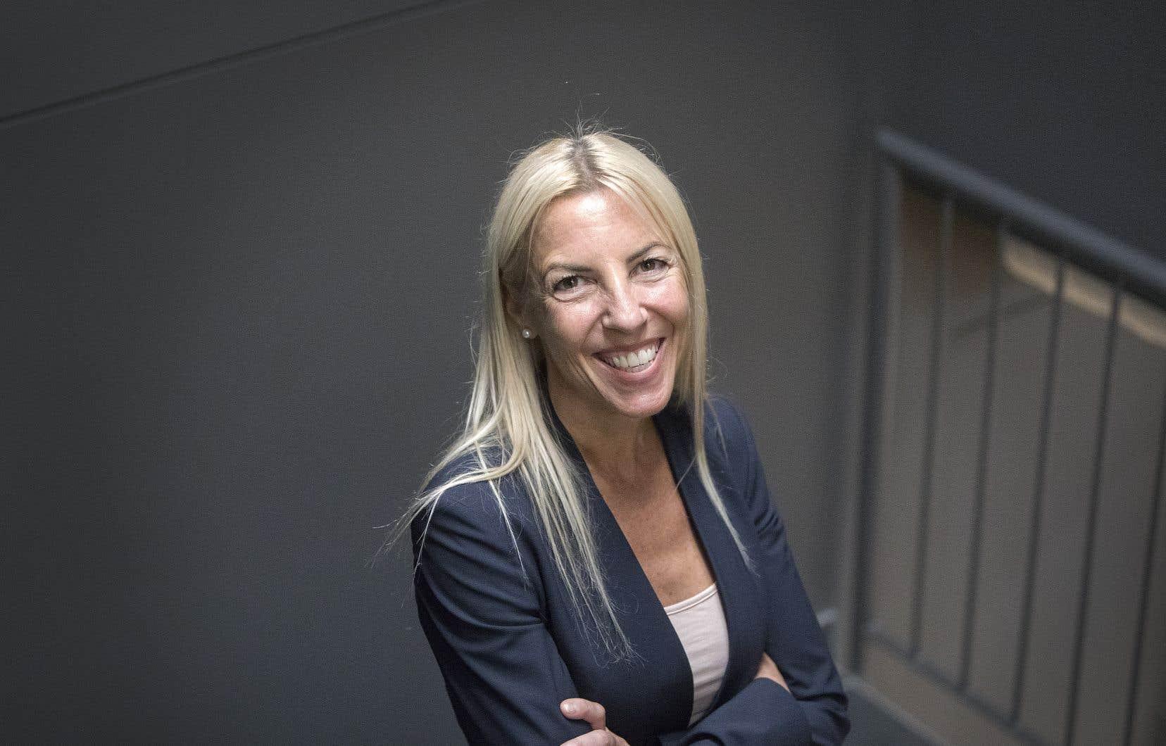 La nouvelle directrice générale Québec du Groupe de voyage Sunwing,Lyne Chayer