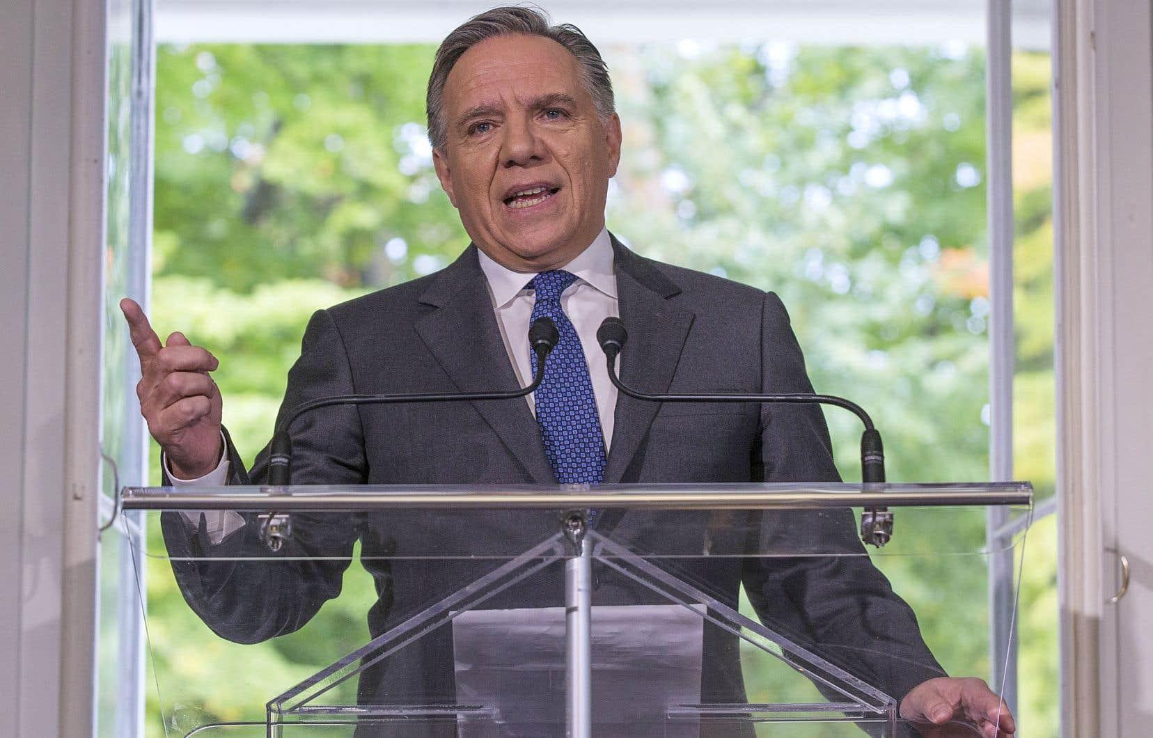 Le chef de la Coalition avenir Québec, François Legault, est lui-même un ancien gestionnaire et homme d'affaires. Il a fondé l'entreprise Air Transat.