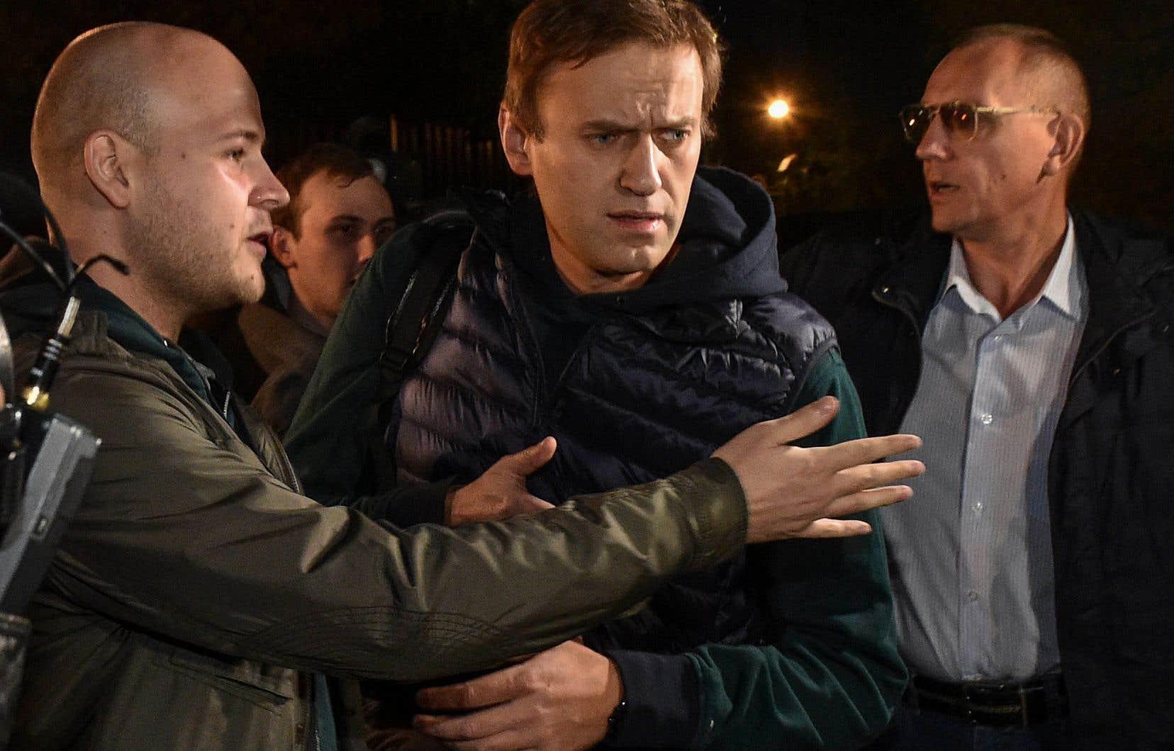 L'opposant au Kremlin Alexeï Navalny a été libéré dimanche après 50 jours de prison.