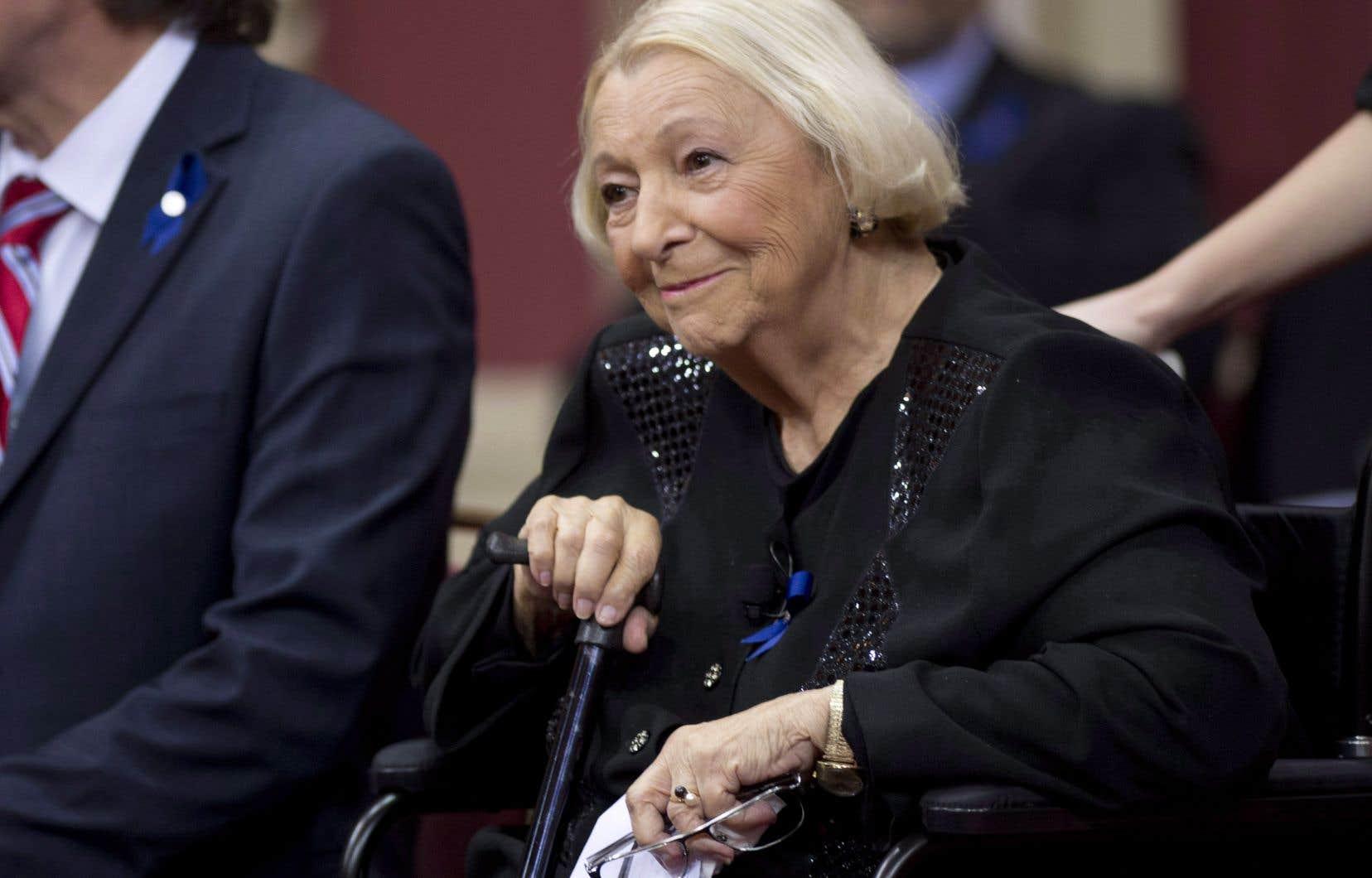 Lise Payette est décédée le 5 septembre à l'âge de 87 ans.