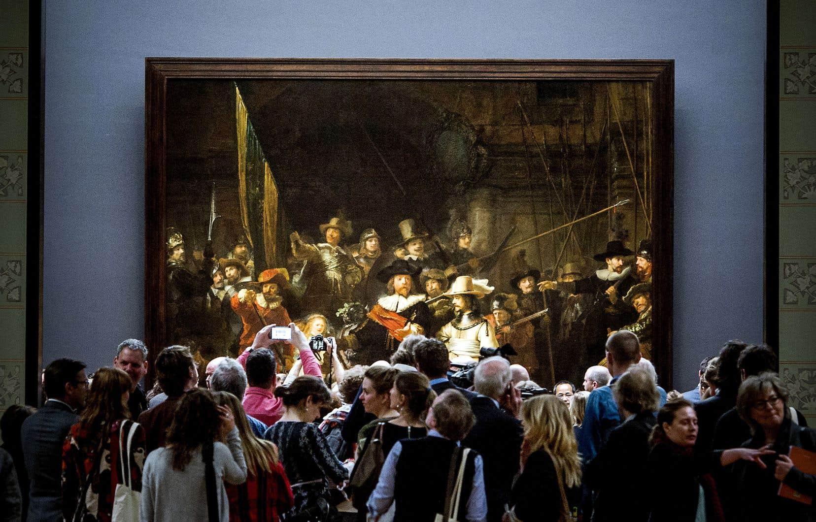 Les amateurs d'art vont pouvoir assister en direct et en ligne à la restauration de <em>La Ronde de nuit</em> de Rembrandt.
