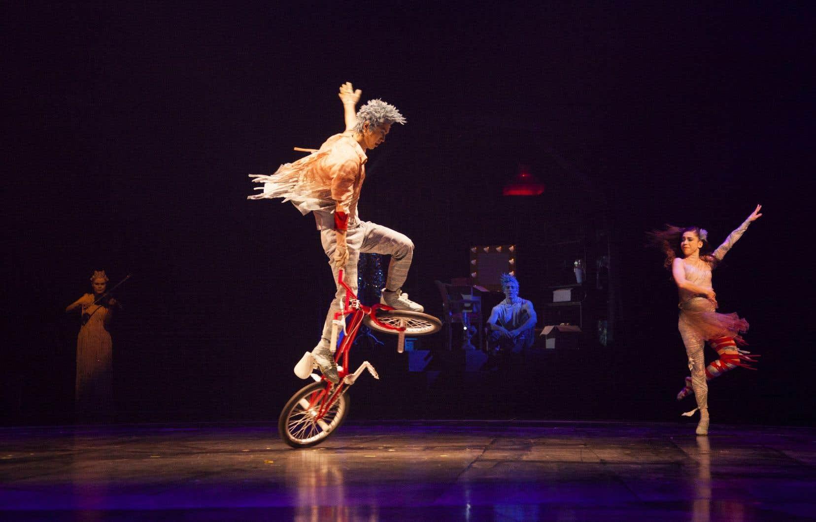 Au tableau des spectacles payants les plus fréquentés, on retrouve le spectacle «Volta», du Cirque du Soleil.