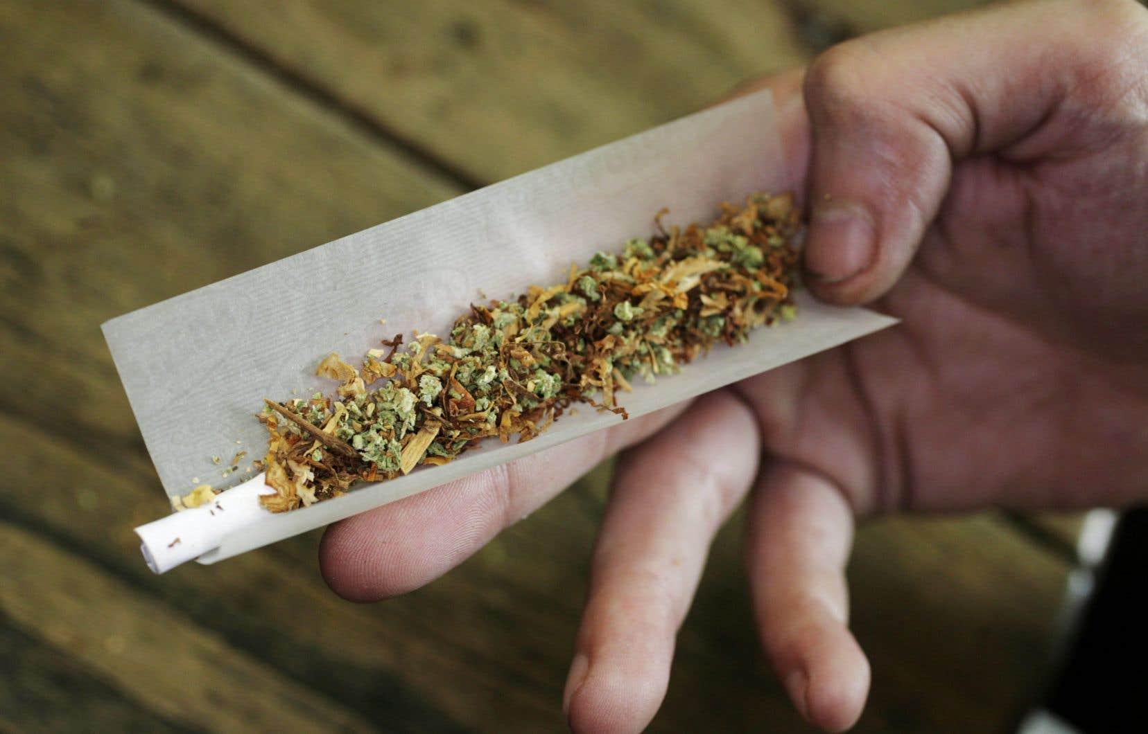 En campagne électorale, la Coalition avenir Québec avait fermé la porte à l'ouverture de «cafés cannabis» qui auraient permis aux Québécois de fumer un joint dans des établissements licenciés.