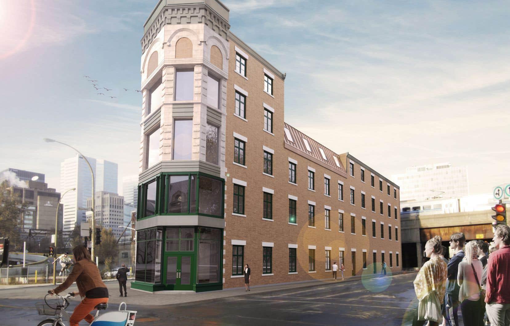 Dès l'été 2019, Le Rodier accueillera des bureaux privés et des espaces ouverts et collaboratifs dans Griffintown.
