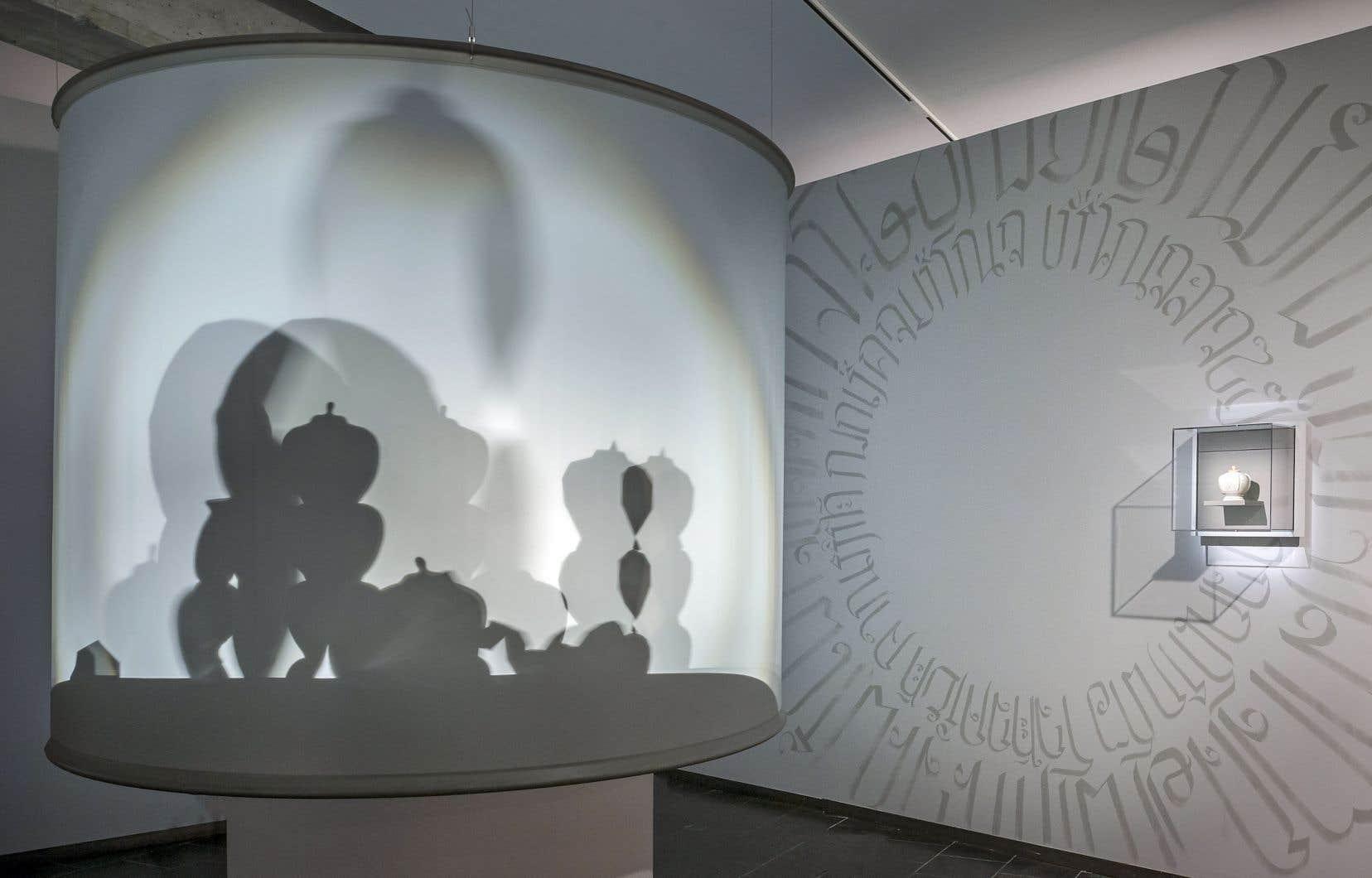 Inspirée de la petite jarre, l'œuvre «Île flottante», de Pavitra Wickramasinghe