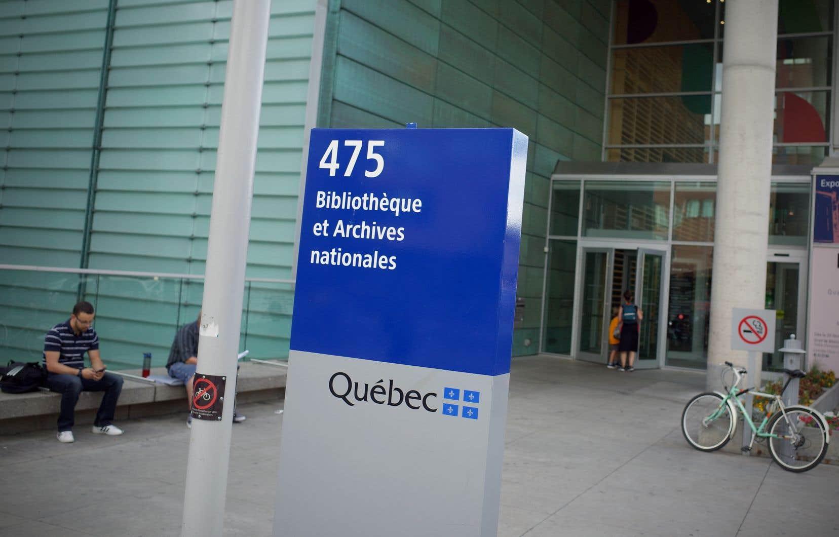 Bibliothèque et Archives nationales du Québec, qui administre les programmes liés au domaine de l'archivistique au Québec, peine à faire augmenter les budgets alloués au milieu des archives, déplore l'auteure.