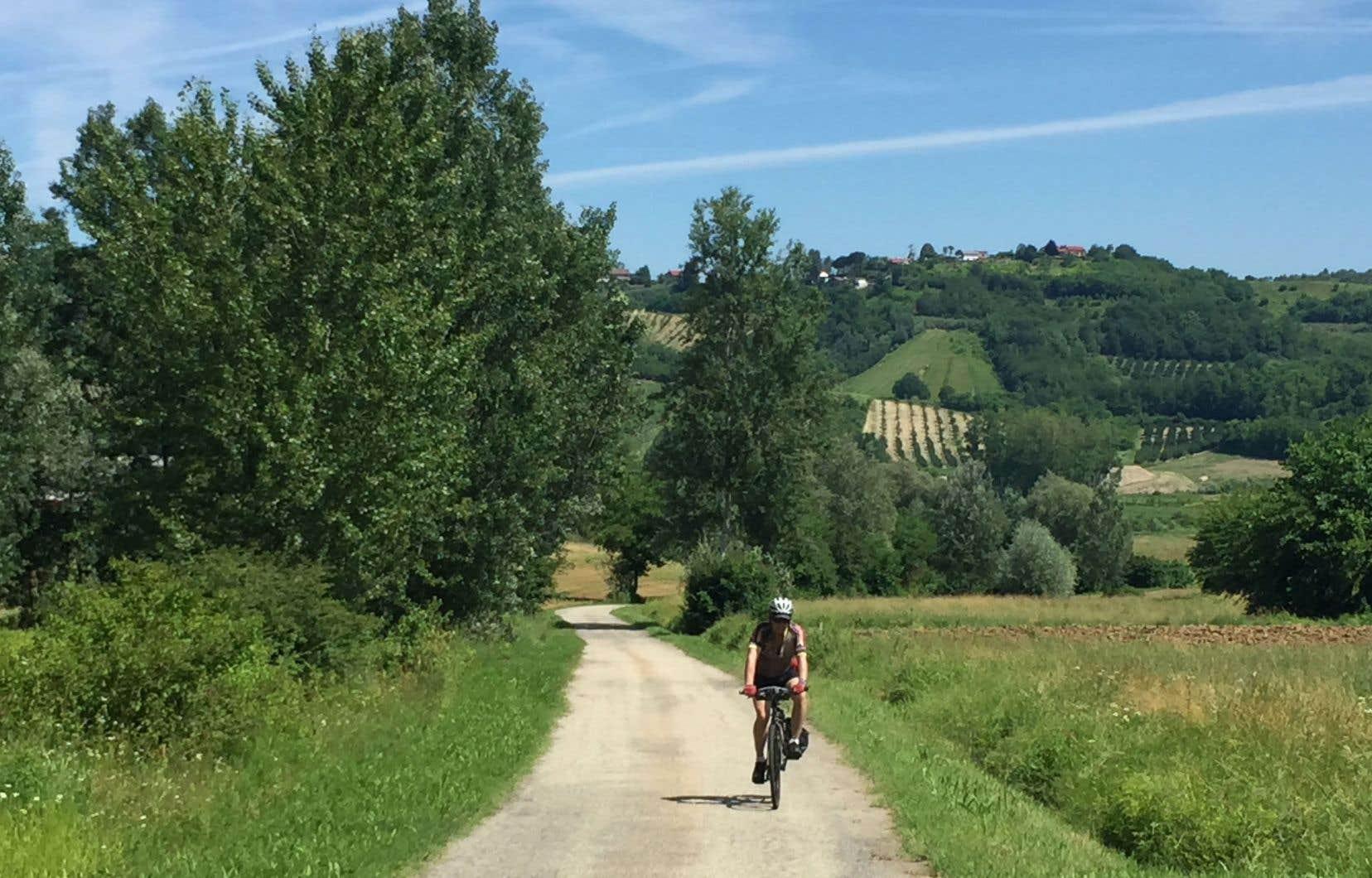 L'Italie est une terre de cyclisme. La ville d'Alessandria, que nous traverserons au cours du périple, a même consacré un musée à la bicyclette.