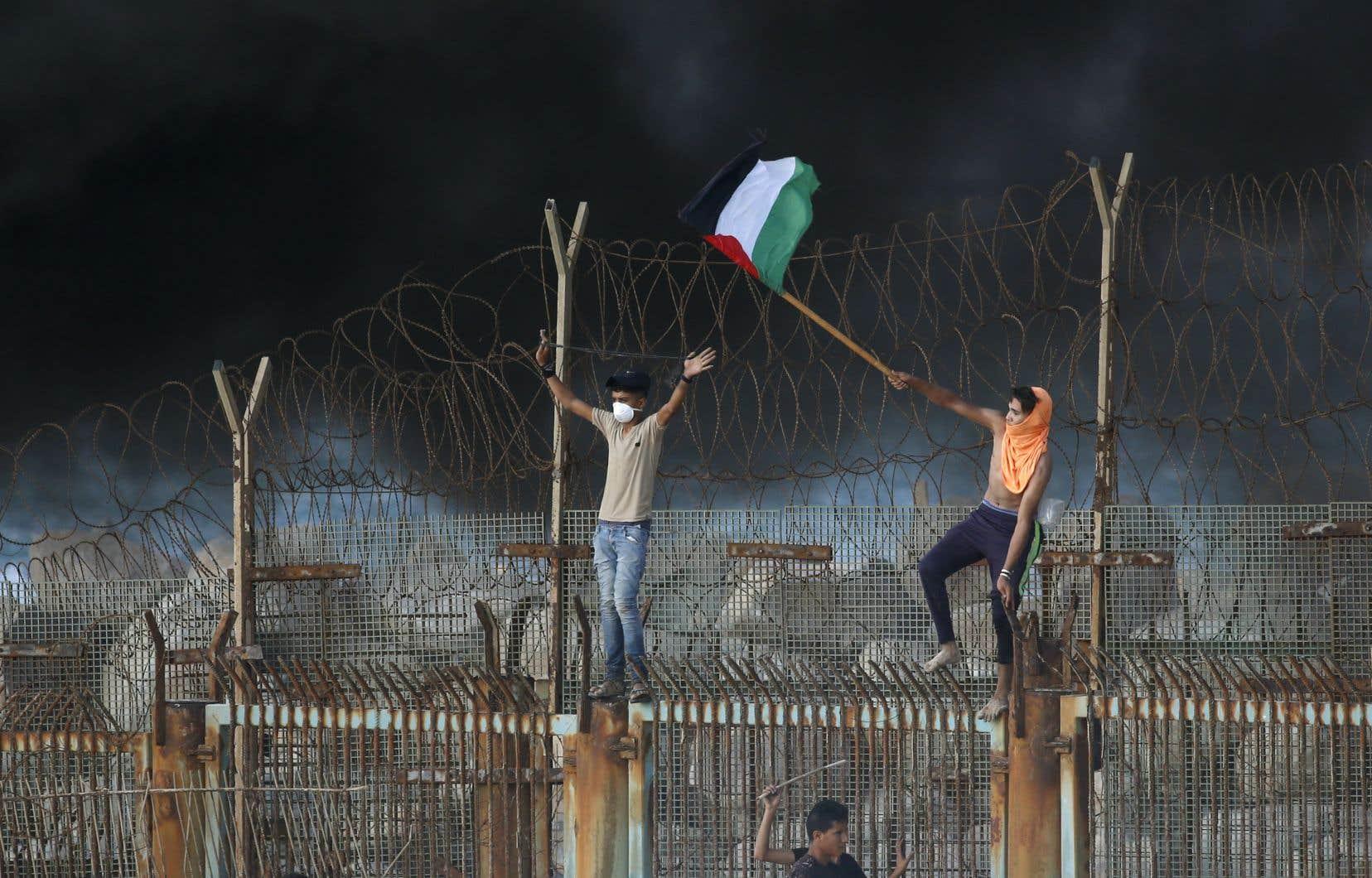 Selon le directeur d'une ONG israélienne, «la bande de Gaza, où vivent deux millions de personnes, est une prison à ciel ouvert».