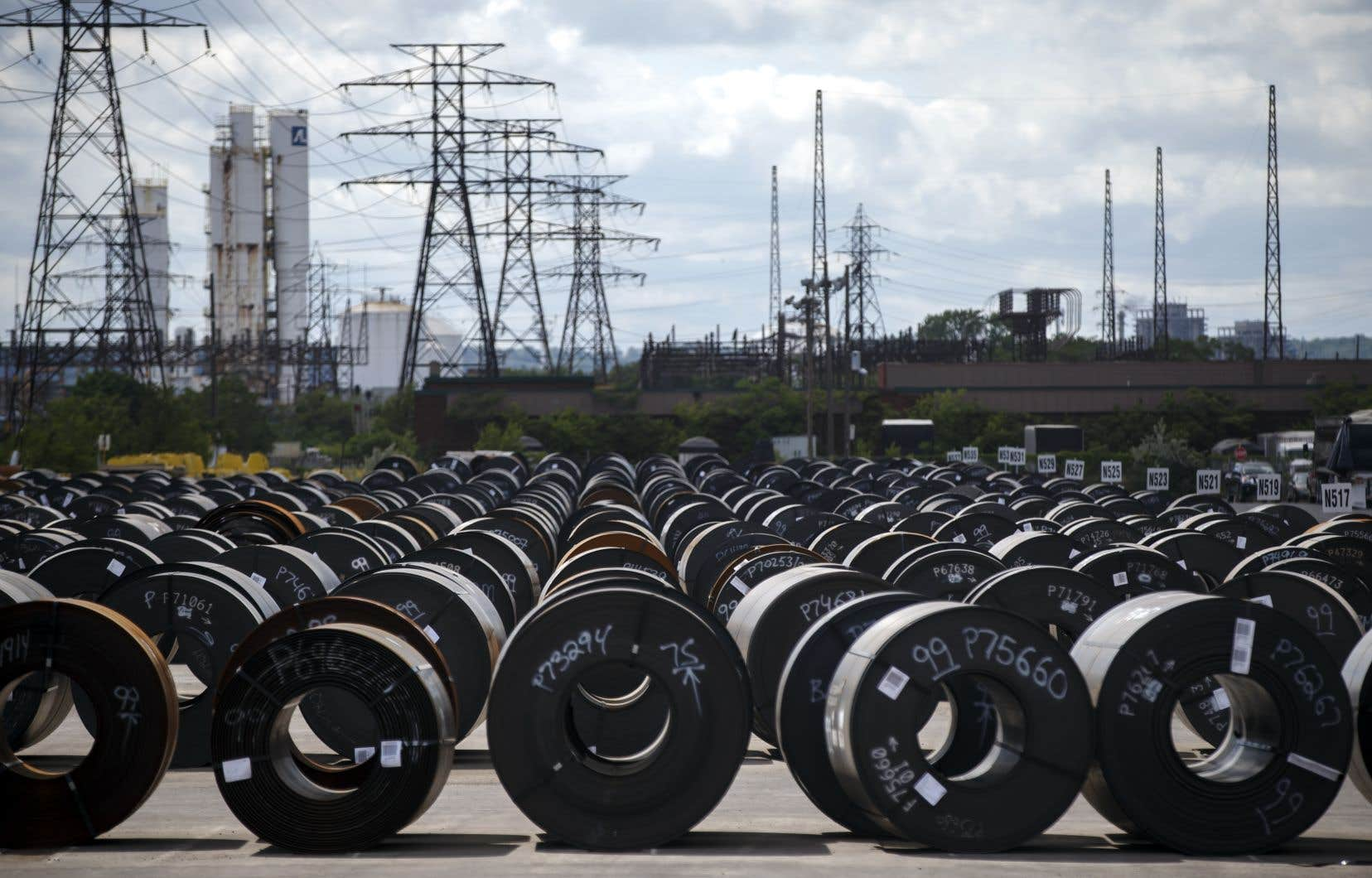 Vendredi, Ottawa a octroyé une première subvention à l'industrie de 49,9millions qui ira au géant de l'acier ArcelorMittal.