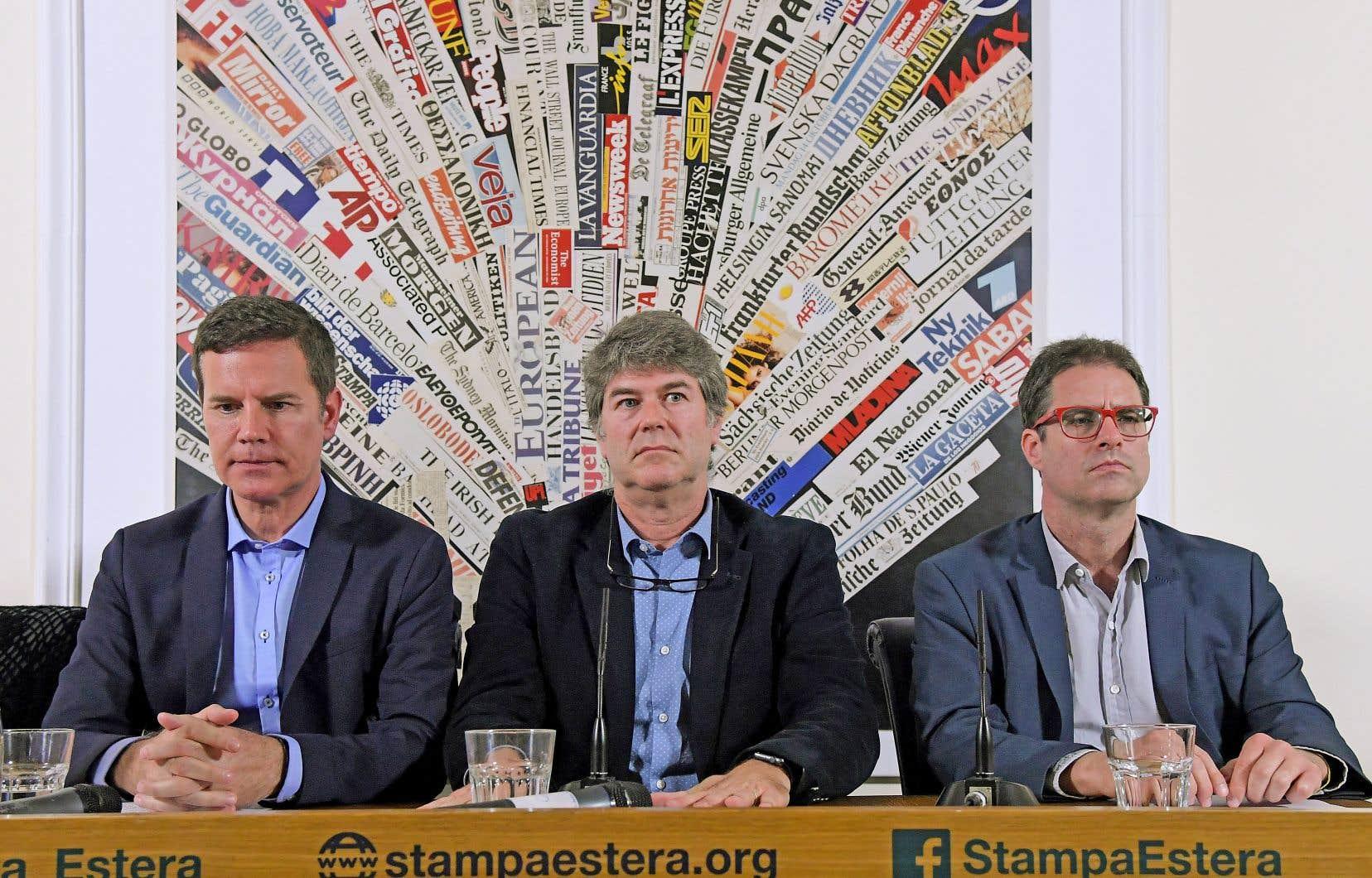 Juan Carlos Cruz, James Hamilton et José Andrés Murillo se sont réjouis de la décision dimanche.