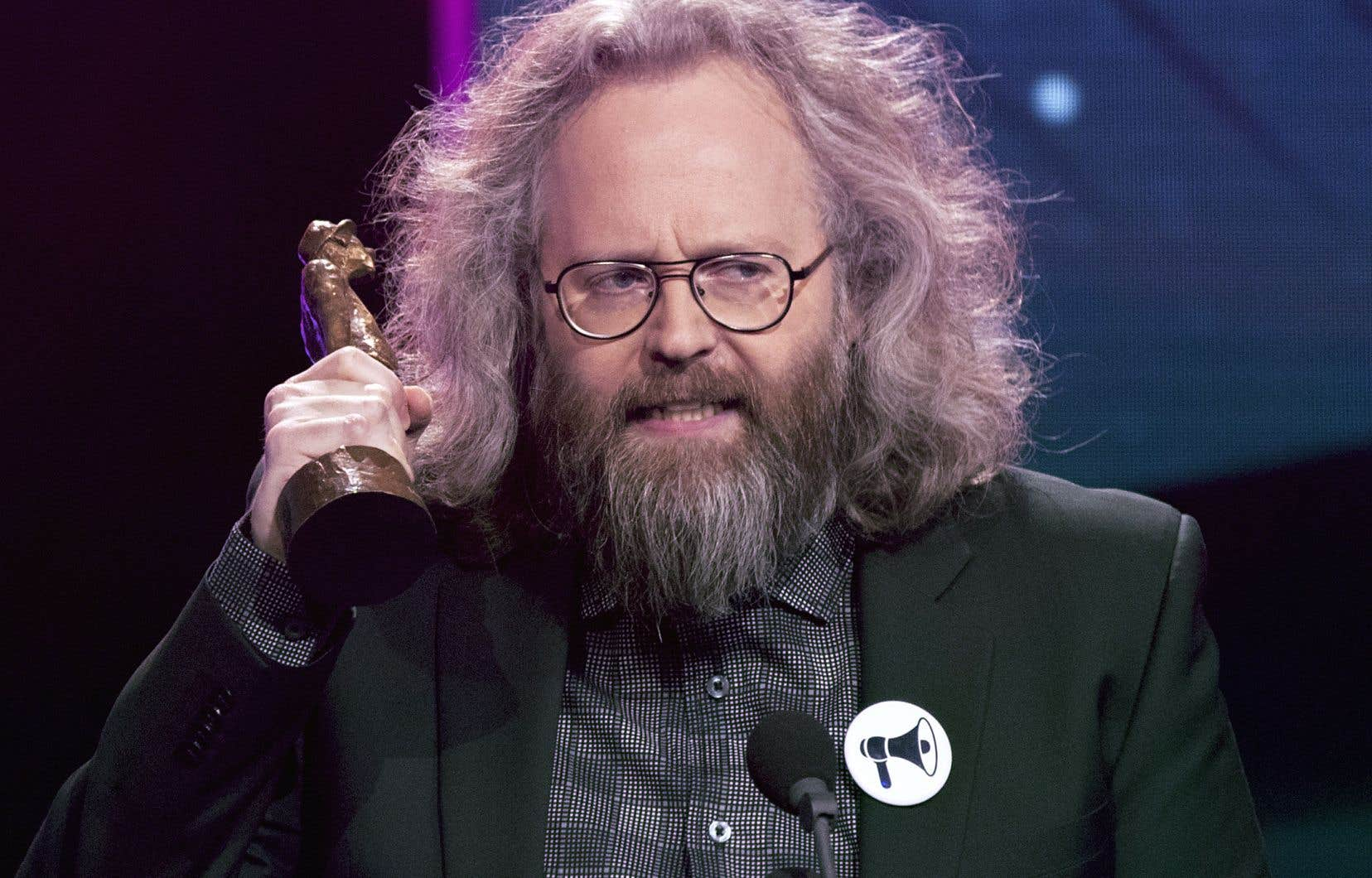 François Bellefeuille a remporté l'Olivier du spectacle d'humour/meilleur vendeur en 2017.