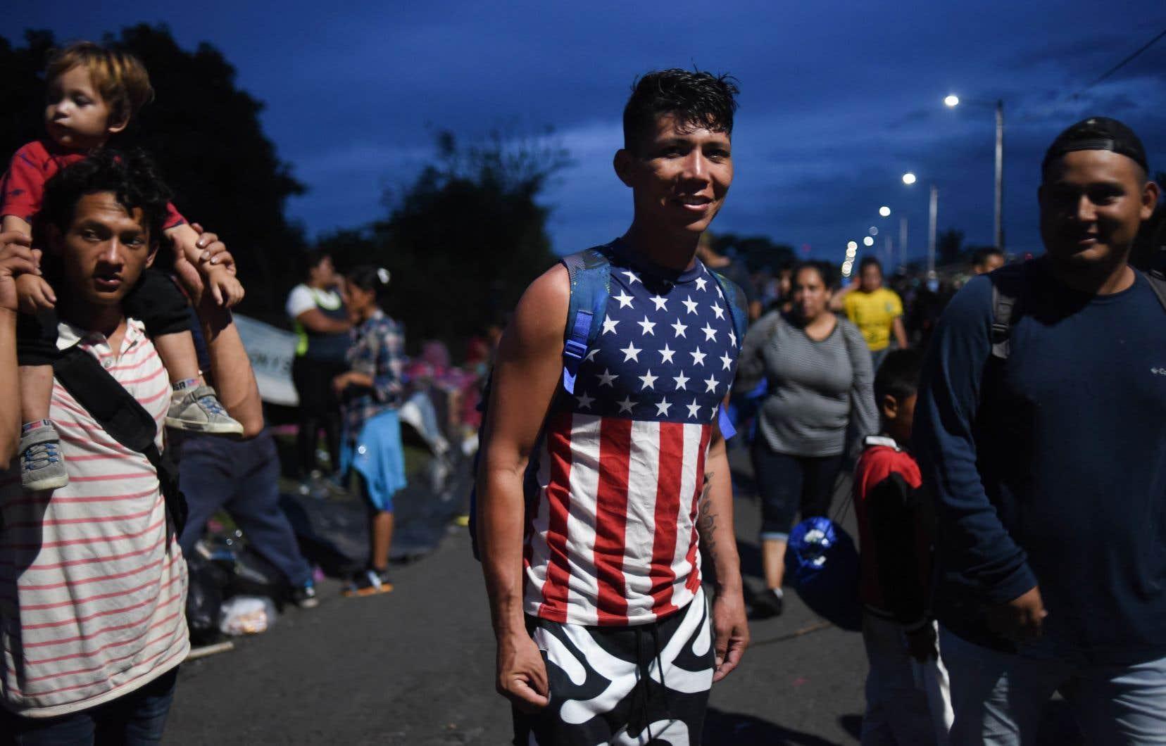 Les images de milliers de migrants honduriens avançant groupés à travers le Guatemala puis le Mexique tournent en boucle depuis la semaine dernière sur les écrans américains.