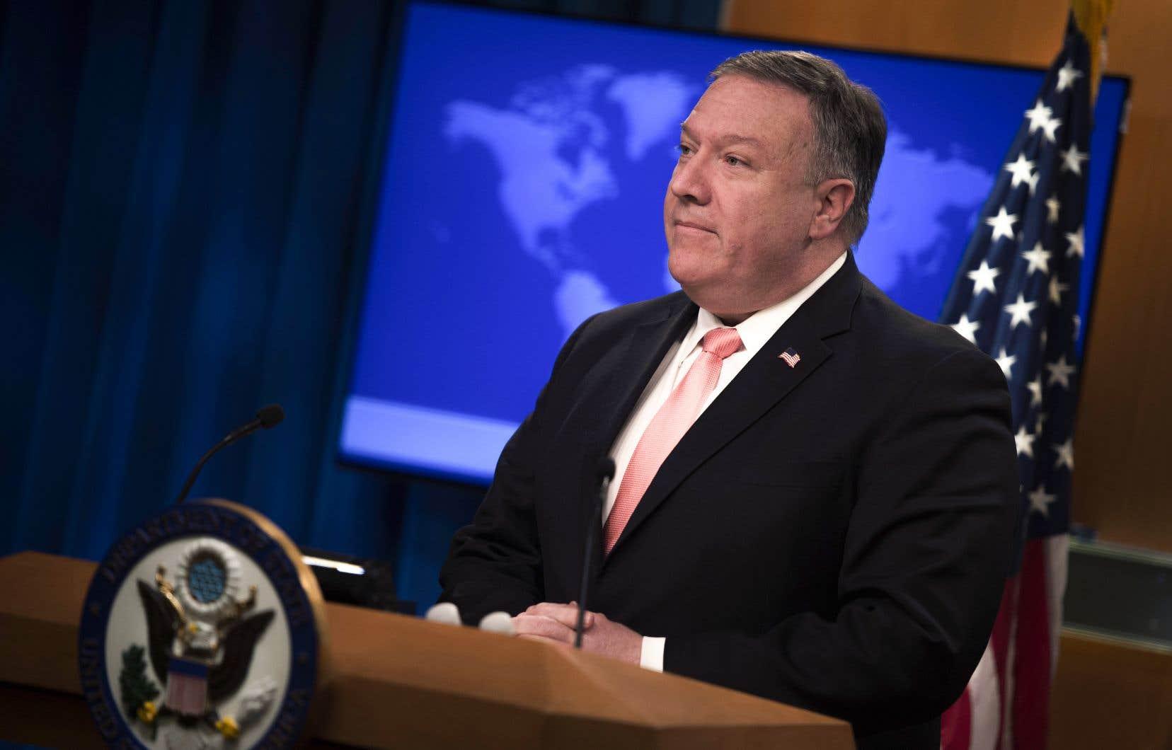 «Ces sanctions ne seront pas les dernières de la part des États-Unis dans cette affaire», a déclaré le secrétaire d'État américain, Mike Pompeo.