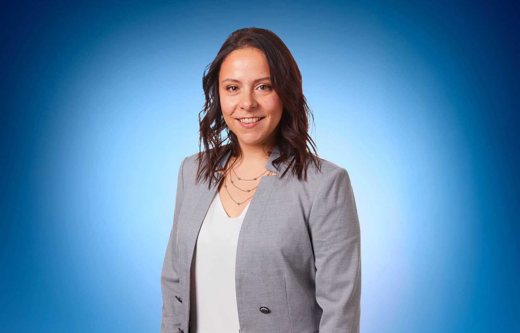 Caroline Bourgeois, candidate de Projet Montréal à la mairie de Rivière-des-Prairies–Pointe-aux-Trembles
