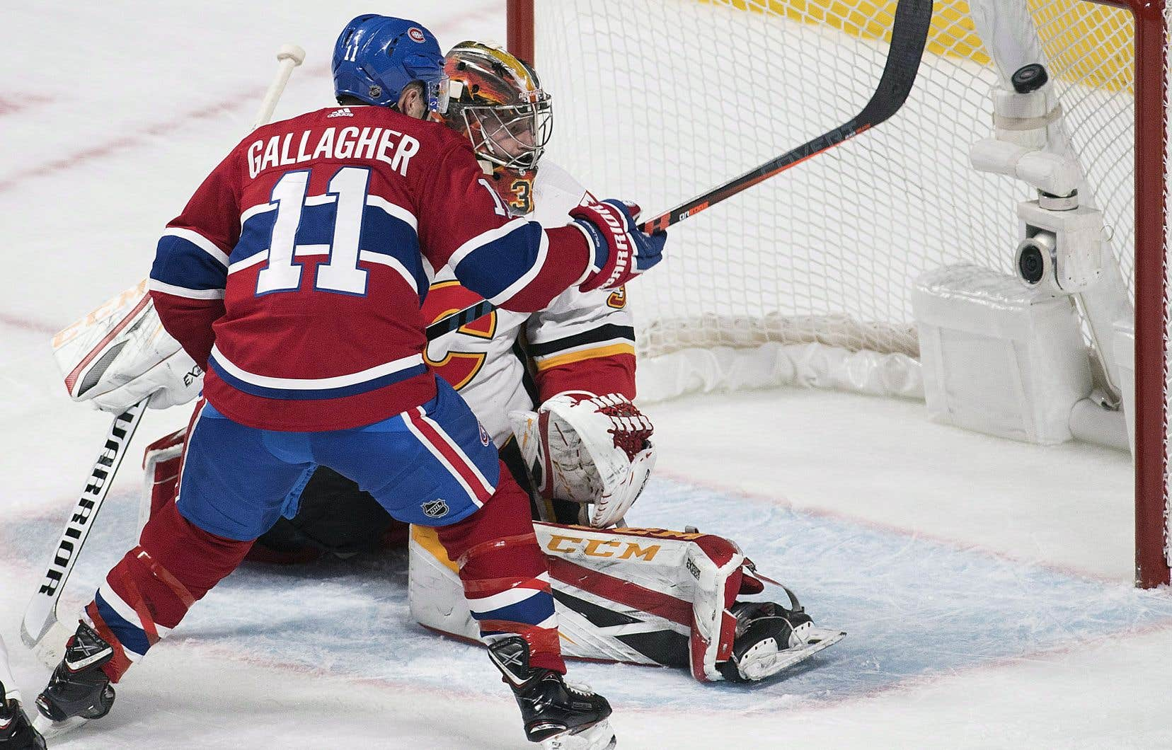 Le Canadien a défait les Flames de Calgary mardi soir au Centre Bell.