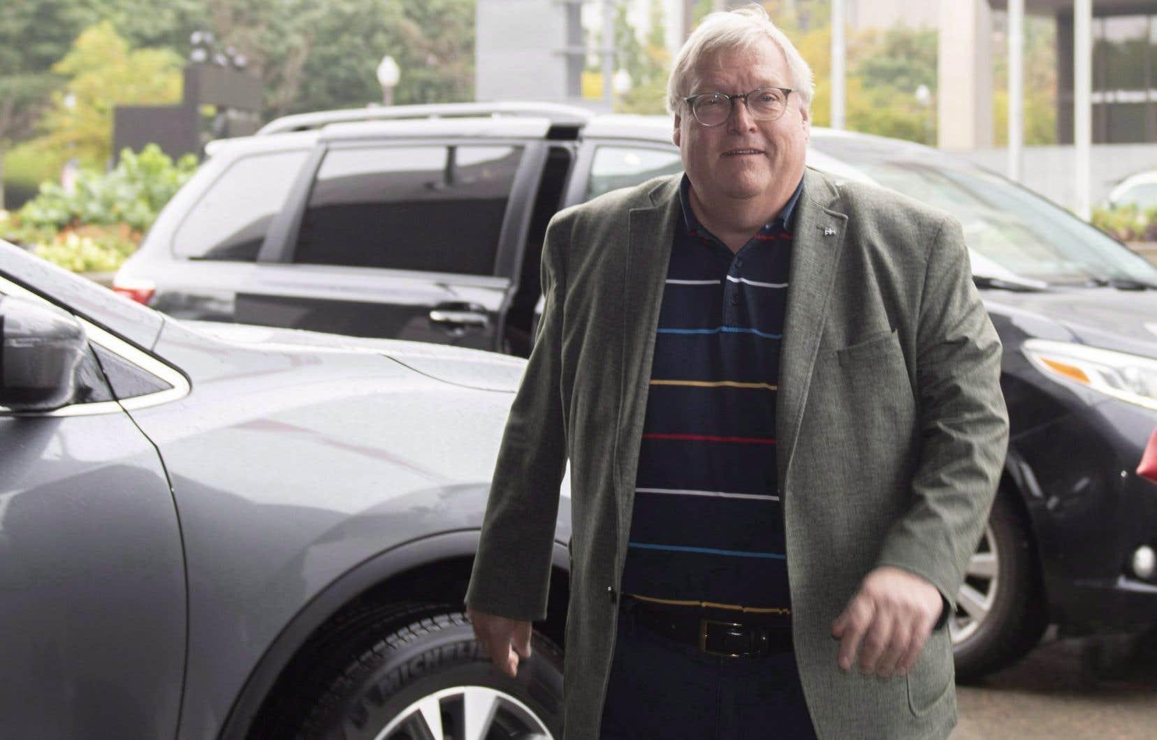 L'ancien ministre libéral de la Santé Gaétan Barrette au lendemain de la défaite électorale de son parti