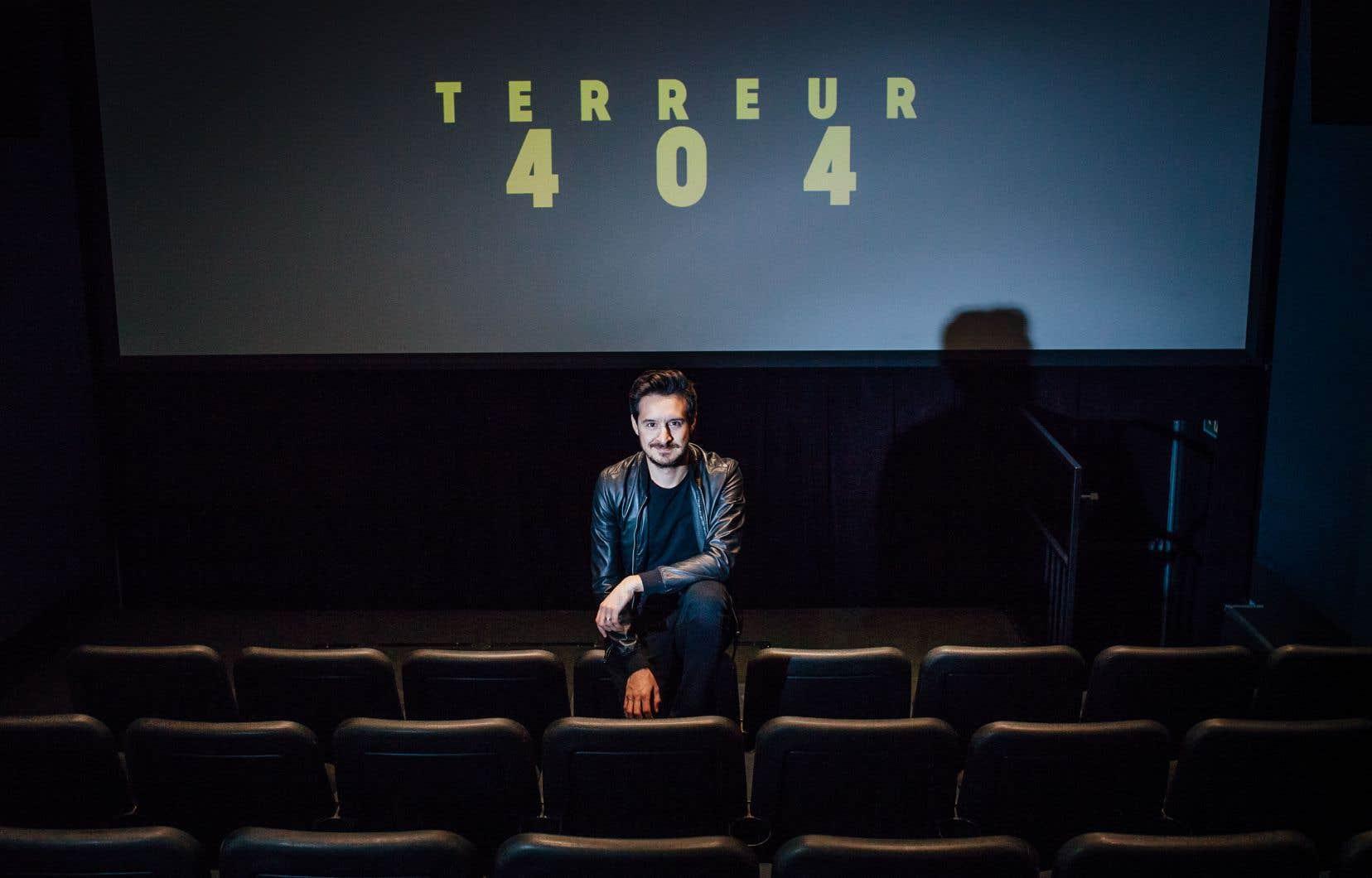 L'équipe de création derrière «Terreur 404» — Sébastien Diaz (notre photo) à la réalisation, Samuel Archibald et William S. Messier au scénario — a refusé de diffuser des épisodes supplémentaires au début de 2017. Pas pour longtemps: le jour de l'Halloween, la plateforme Tou.tv rendra accessibles sept nouveaux épisodes.