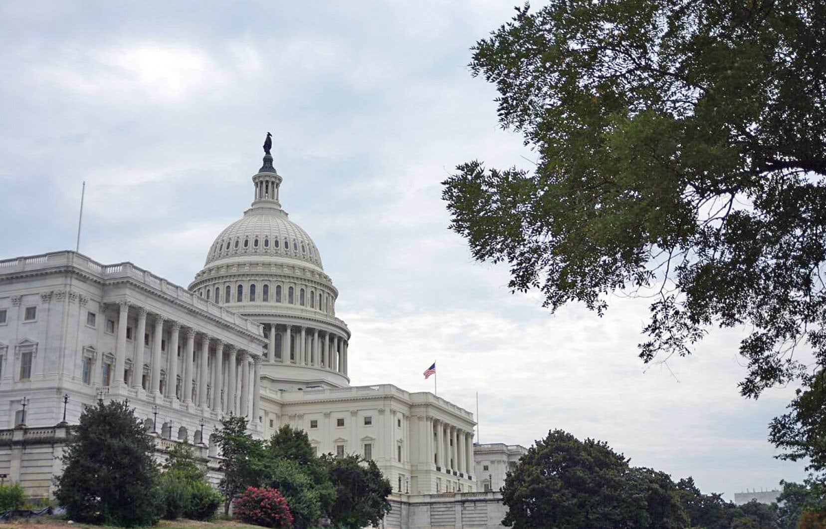 <p>L'accès à la Maison-Blanche est interdit aux touristes étrangers, mais il est très facile (et gratuit) d'explorer une partie du Capitole, où sont situés le Sénat et la Chambre des représentants.</p>