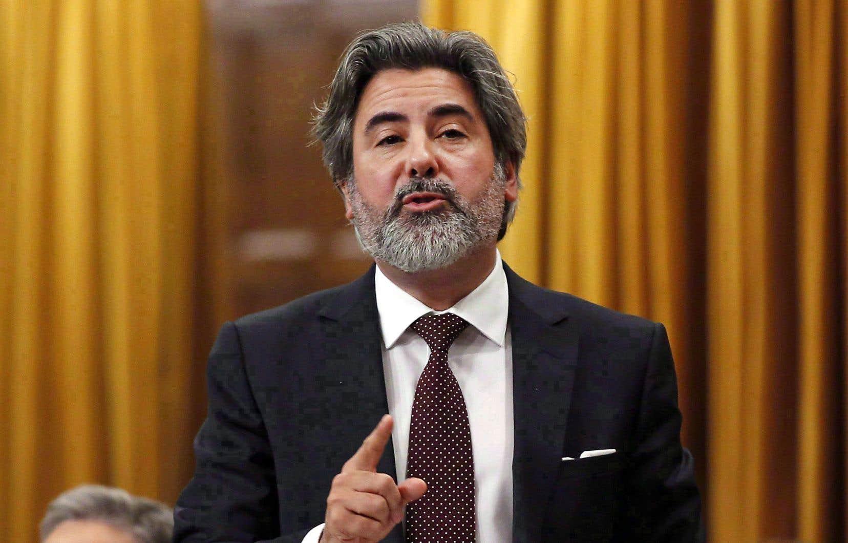 Selon le ministre du Patrimoine canadien, Pablo Rodriguez, la clause sur l'exception culturelle donnée au Canada est une «clause générale qui l'emporte sur le reste».