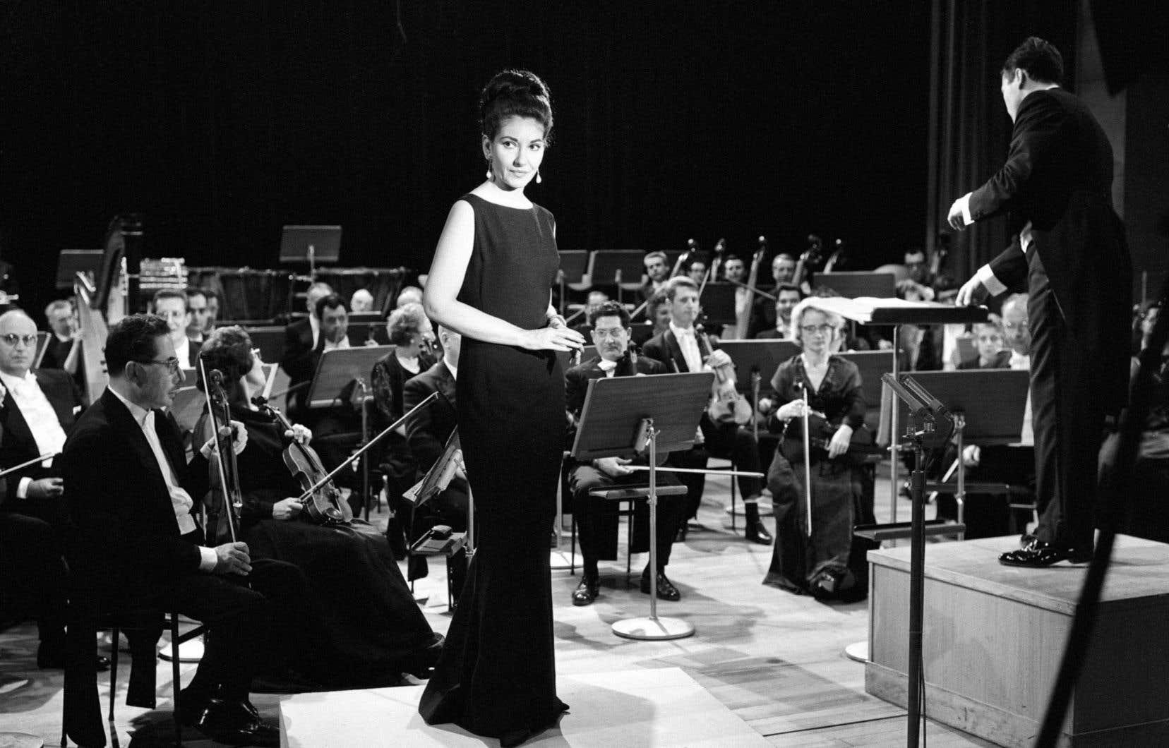 Maria Callas à La Scala en 1954