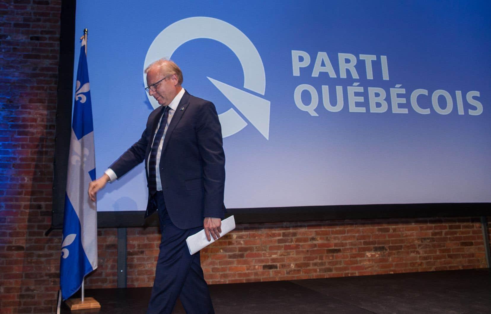 La division du vote indépendantiste et progressiste a ouvert la voie à l'accession de la droite au pouvoir, selon Pierre Dubuc.
