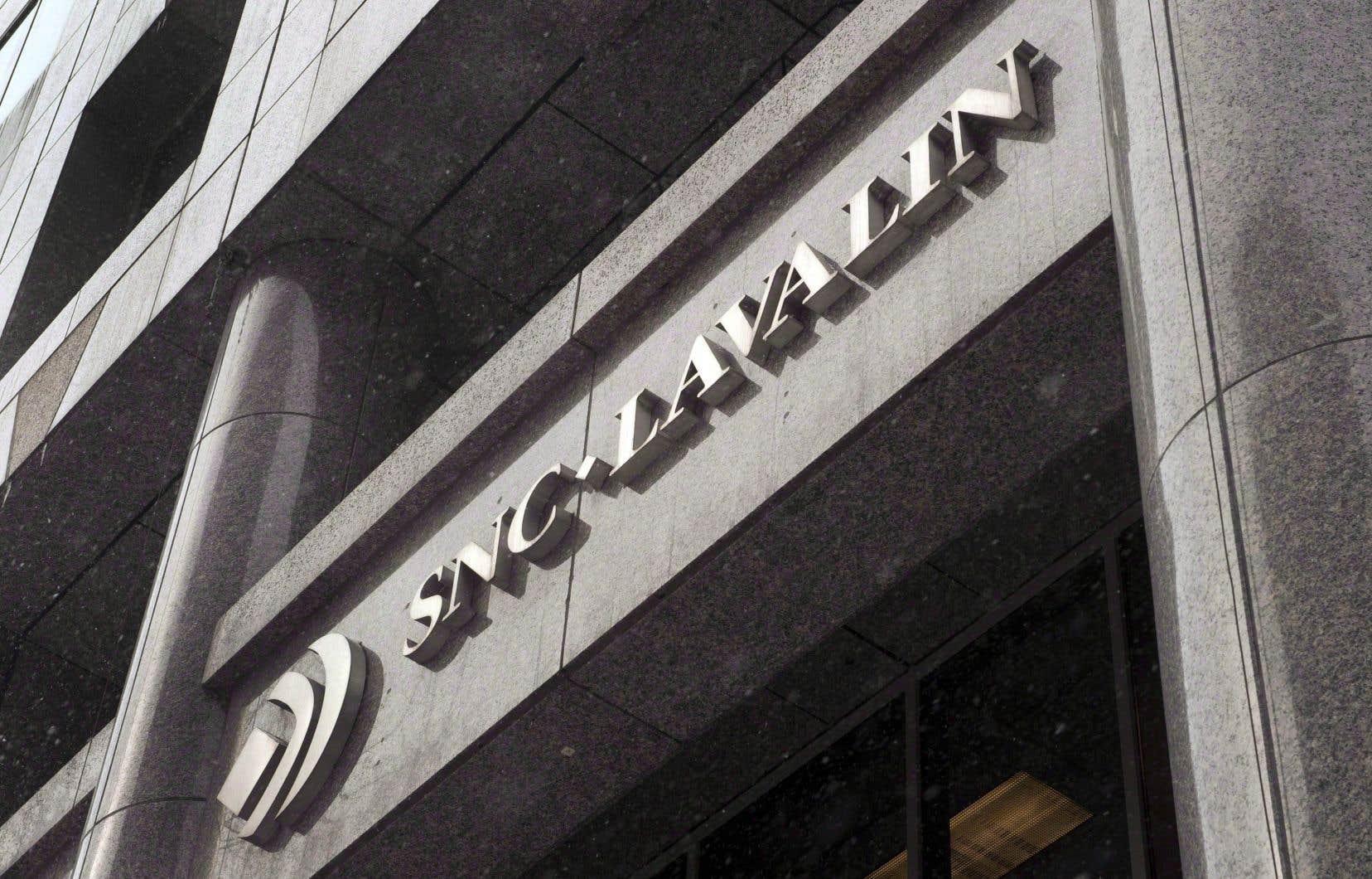 SNC-Lavalin fait face à deux accusations dans ce dossier.