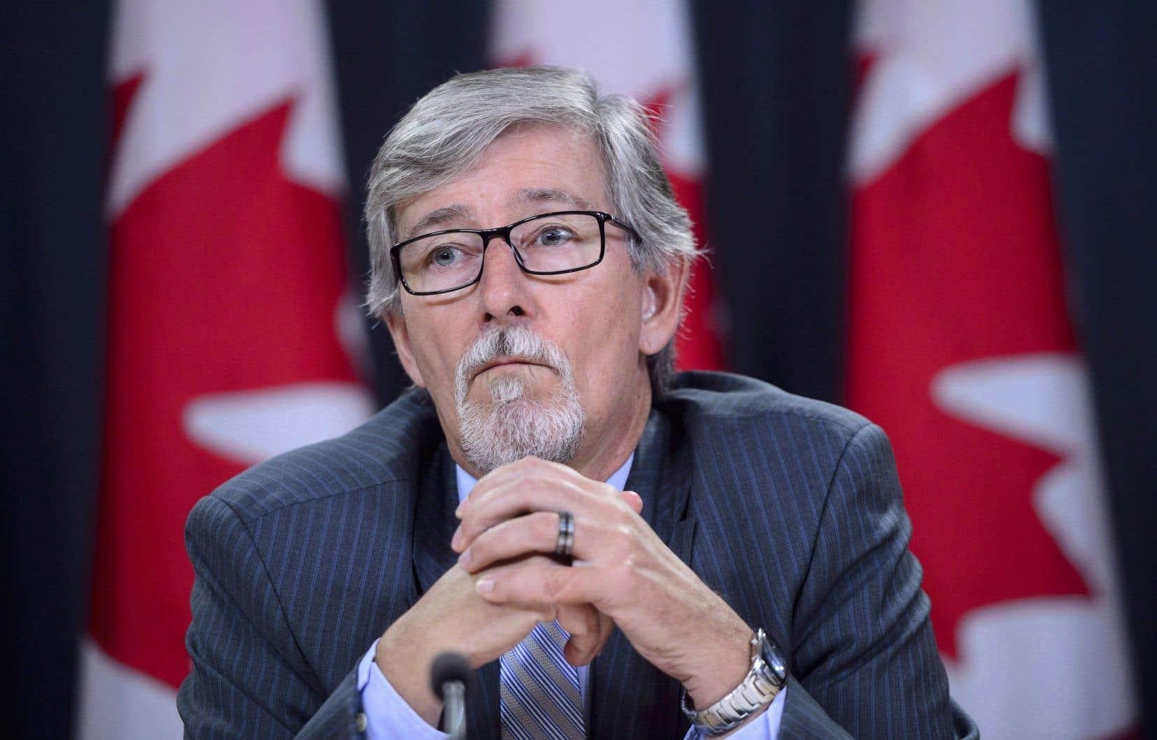 Le commissaire fédéral à la protection de la vie privée, Daniel Therrien