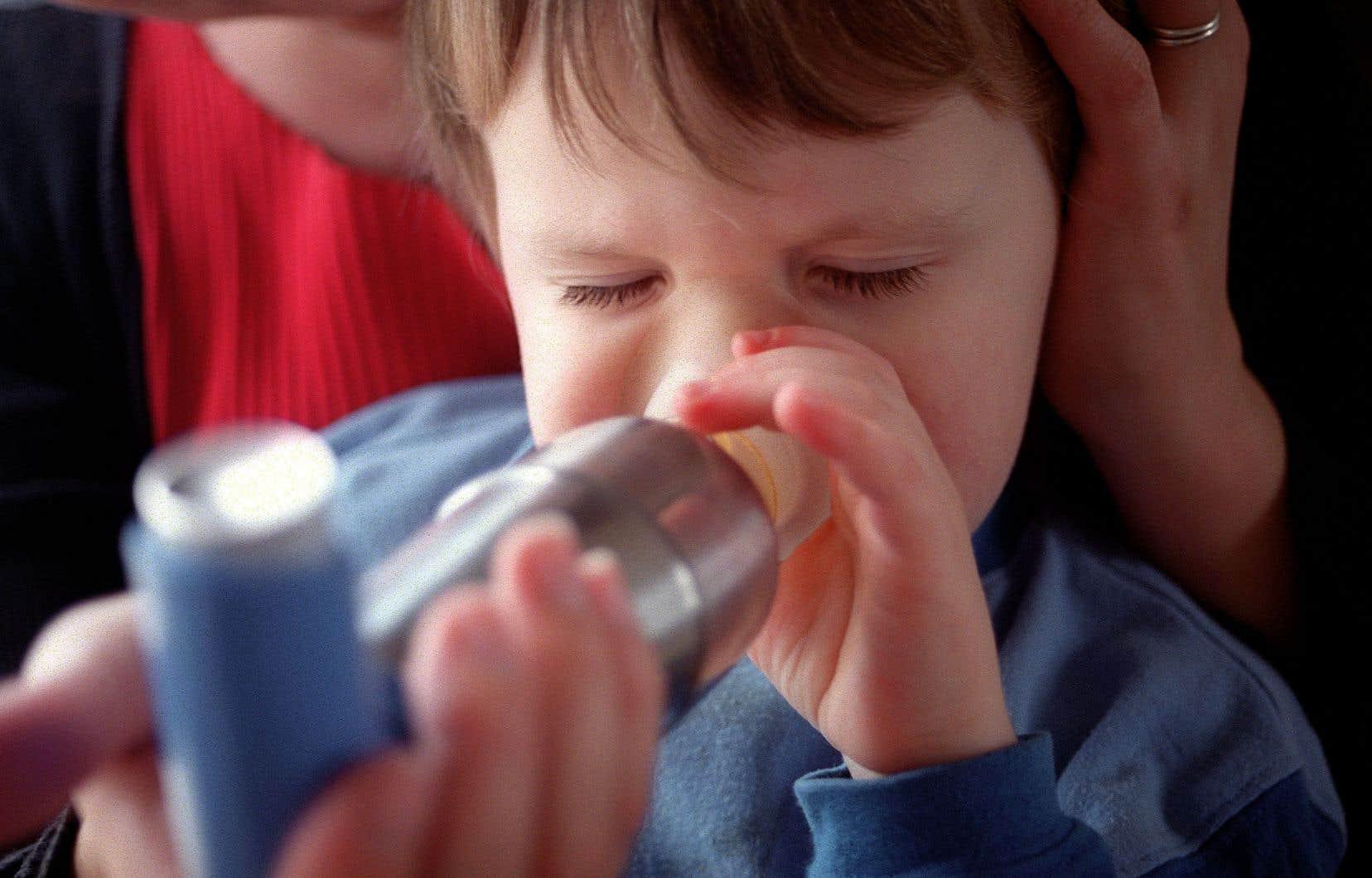 «L'asthme représente 30% des hospitalisations en pédiatrie. C'est énorme», relate Catherine Laprise, qui dirige la Chaire de recherche du Canada sur l'environnement et la génétique des troubles respiratoires et de l'allergie.